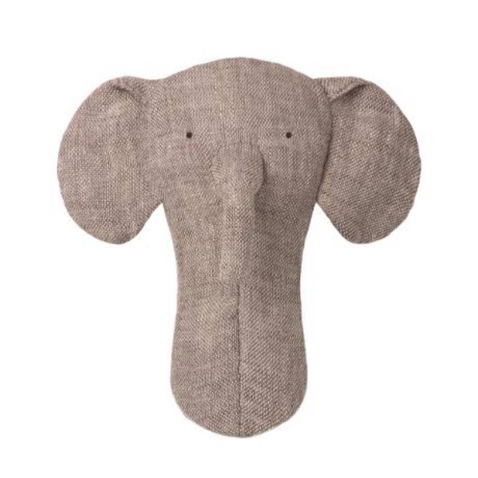 Elephant Small Soft Toy With Crinkly Ears