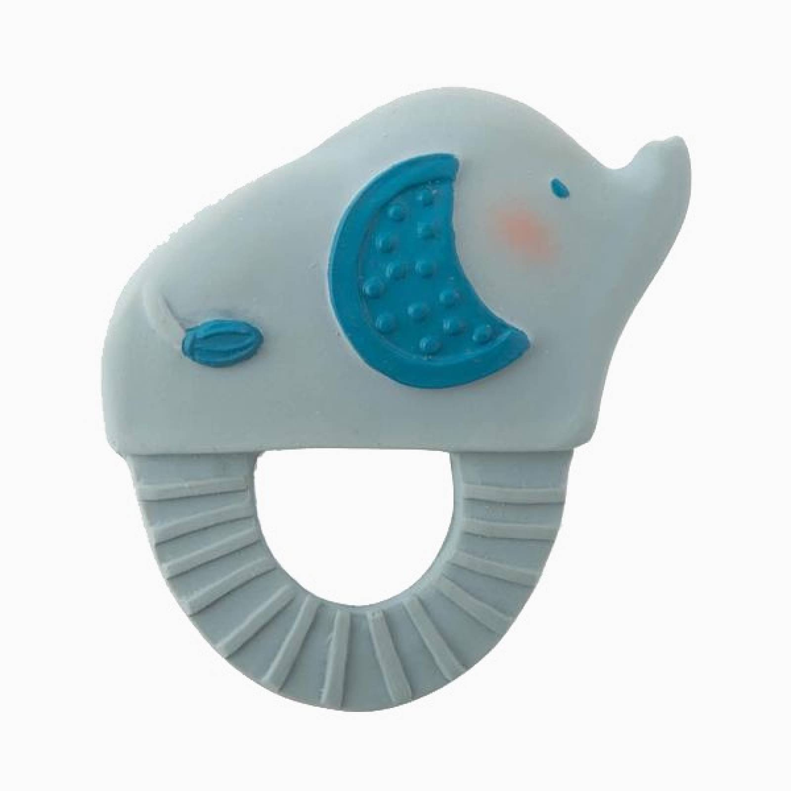 Elephant - Natural Rubber Teething Ring 0+