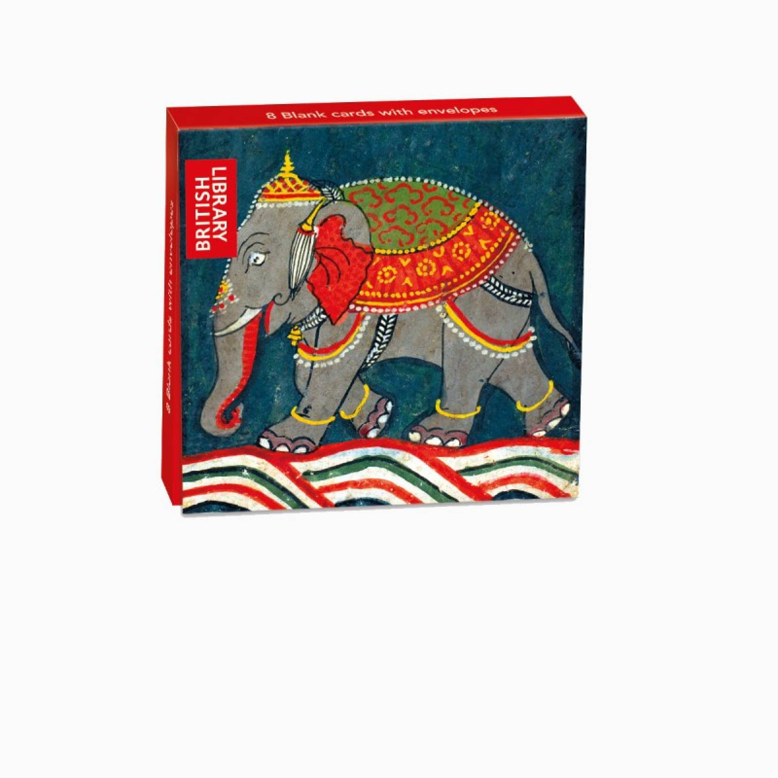 Elephant - Pack Of 8 Cards & Envelopes By M&G