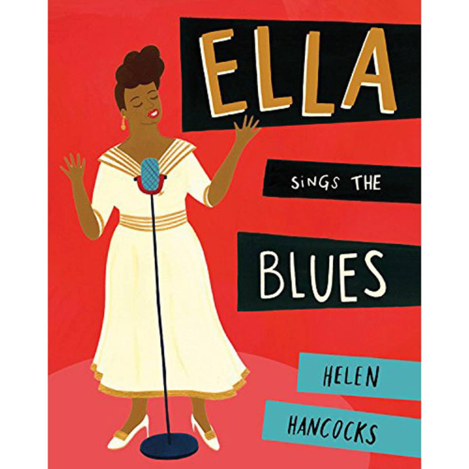 Ella Queen Of Jazz By Helen Hancock Hardback Book