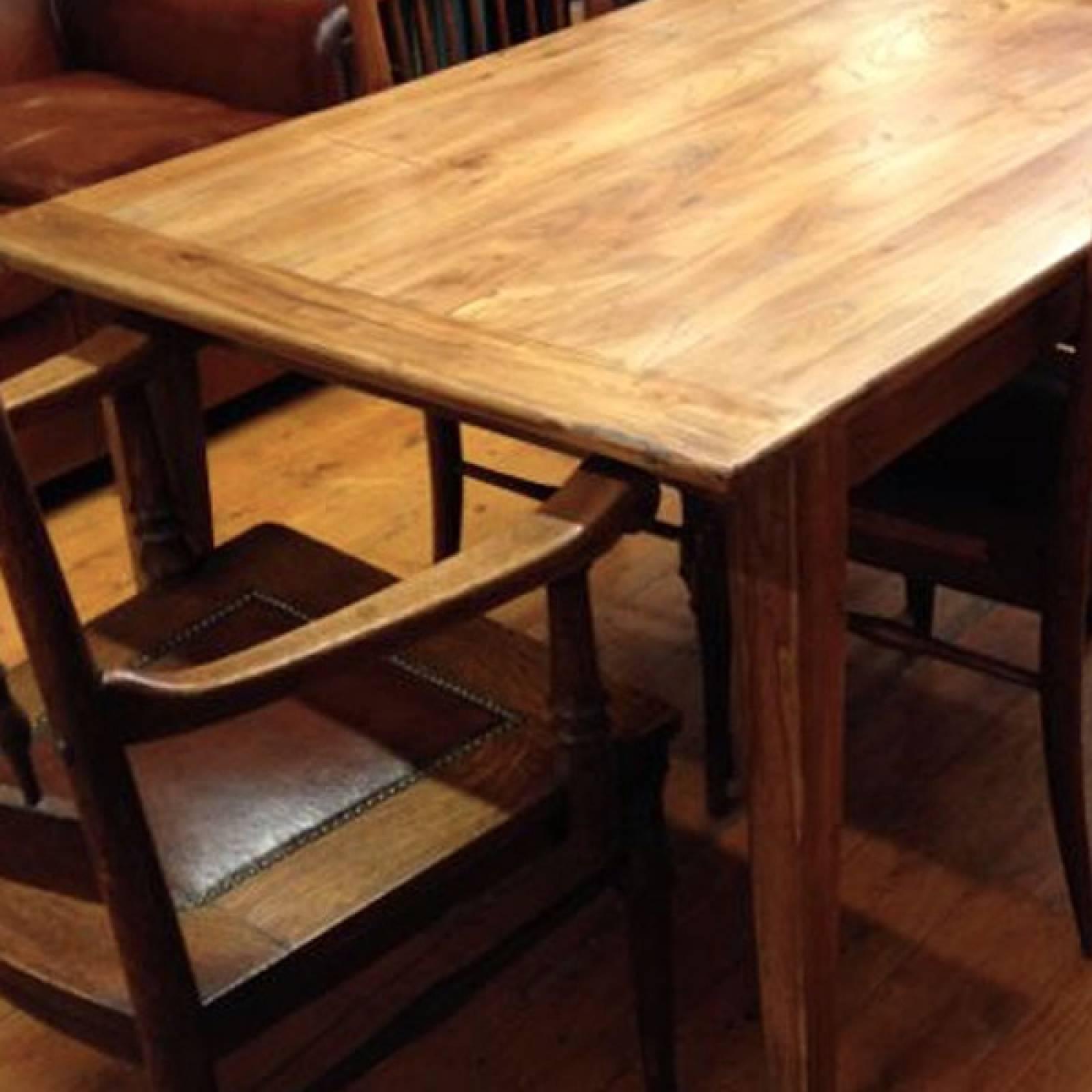 1.8 metre Reclaimed Elm Dining Table - W:181cm D:85cm H:76cm thumbnails