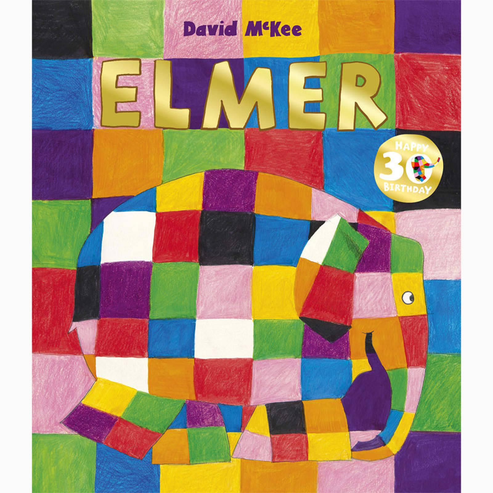 Elmer By David McKee - Paperback Book