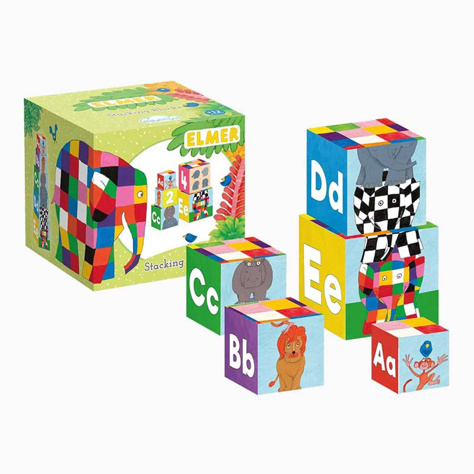 Elmer Stacking Blocks 1+