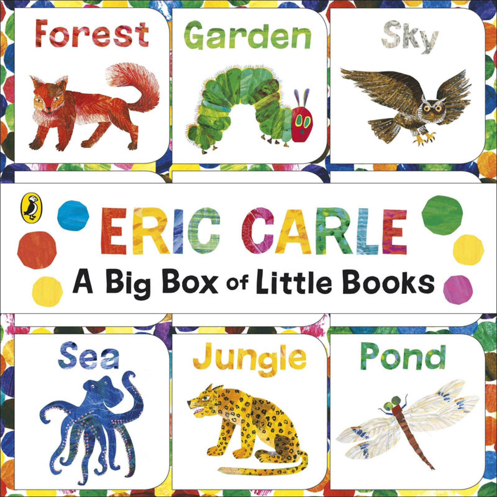 Big Box Of Little Books - By Eric Carle