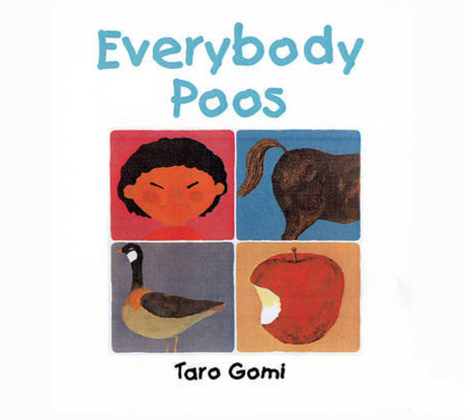 Everybody Poos Book By Taro Gomi (mini edition) thumbnails