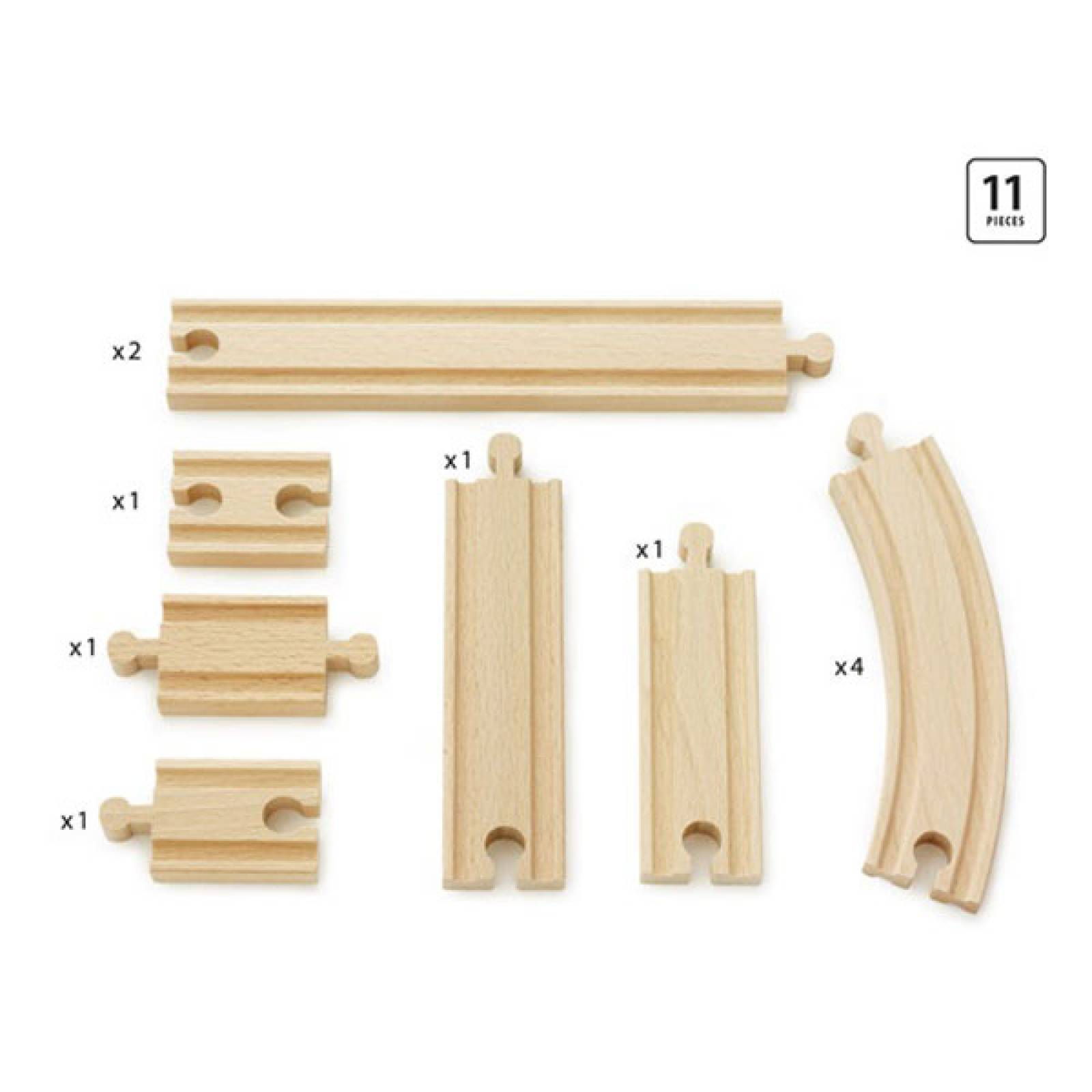Expansion Pack Beginner  BRIO® Wooden Railway Age 3+ thumbnails