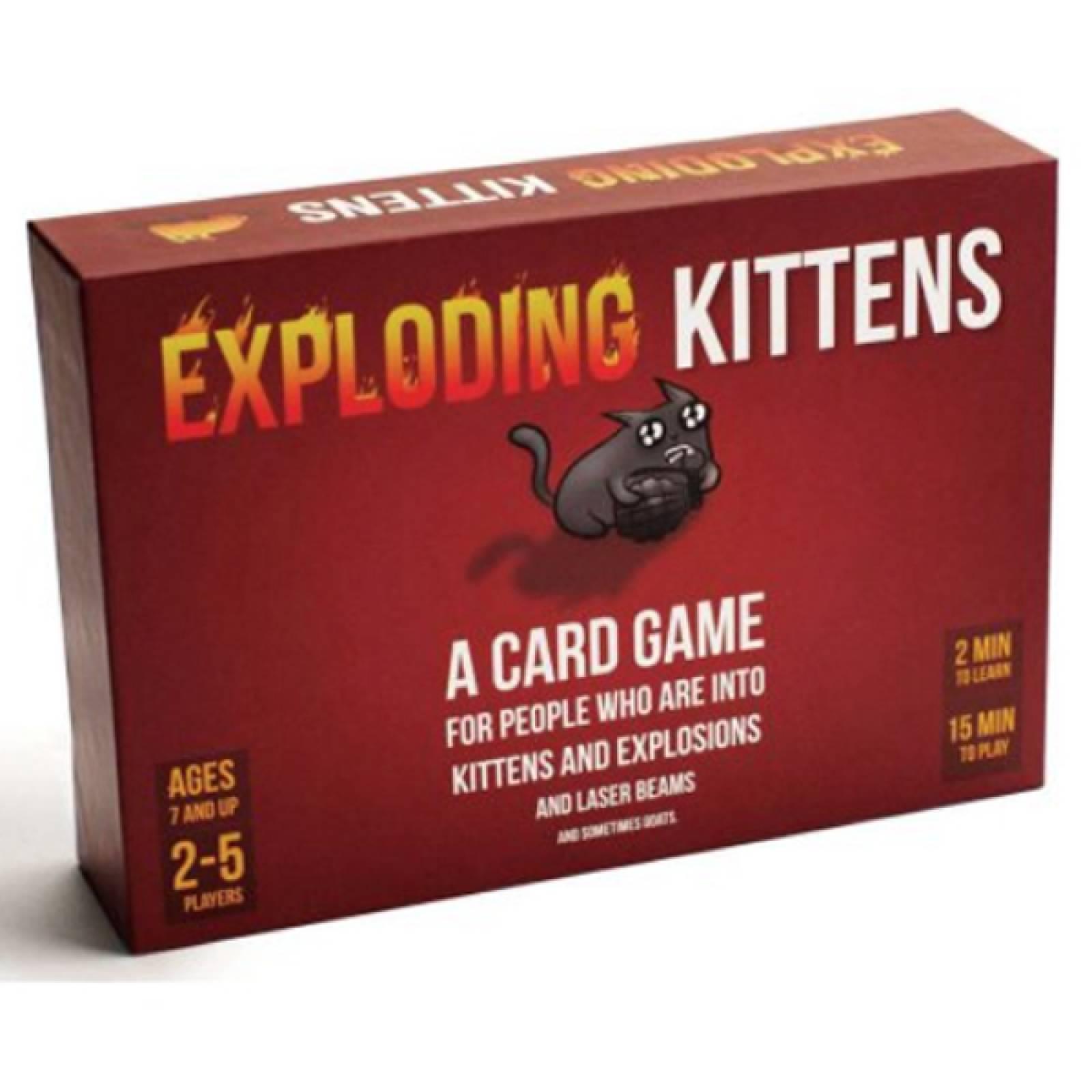 Exploding Kittens Game 7+
