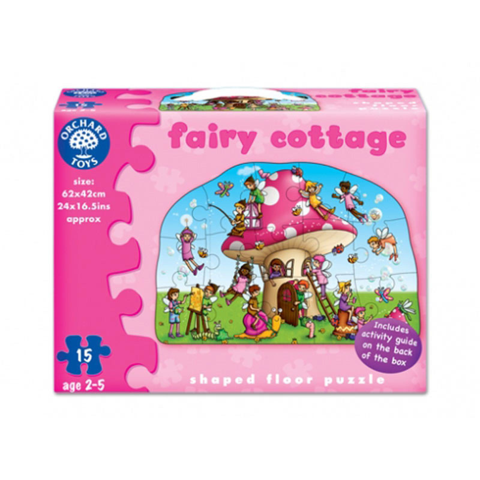 Fairy Cottage Puzzle Jigsaw By Orchard Toys 3-6yrs thumbnails