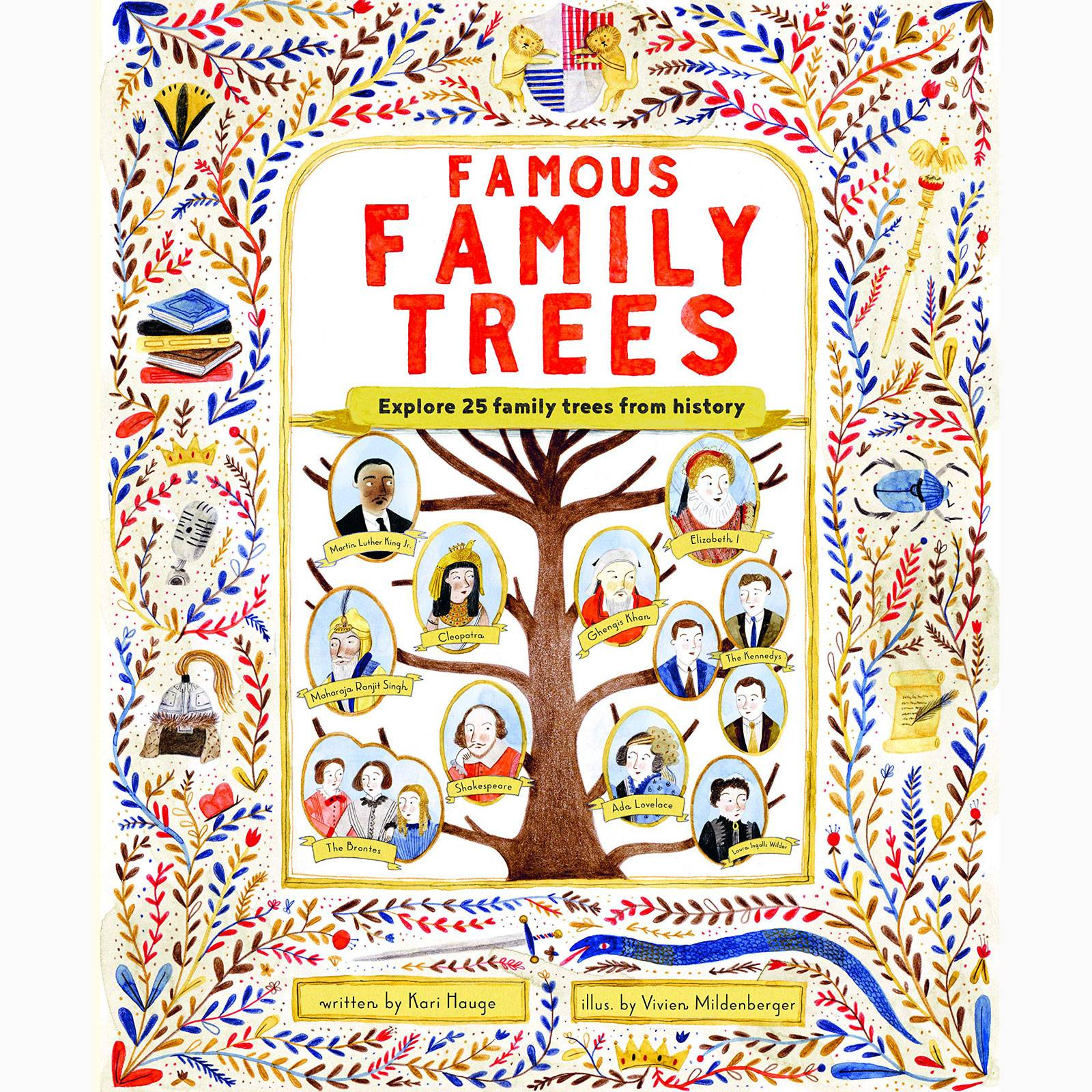 Famous Family Trees - Hardback Book