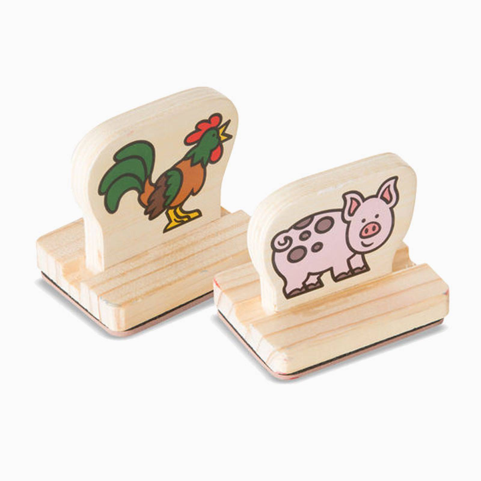 Farm Animals - My First Stamp Set By Melissa & Doug 3+ thumbnails