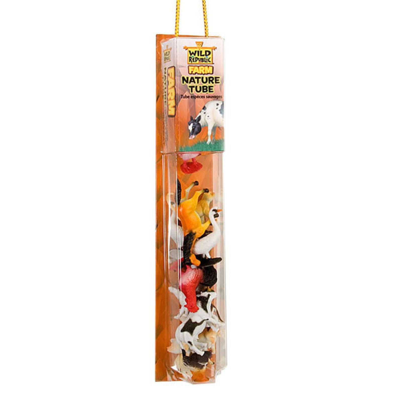 Farm Animals Nature Tube Figures And Playmat