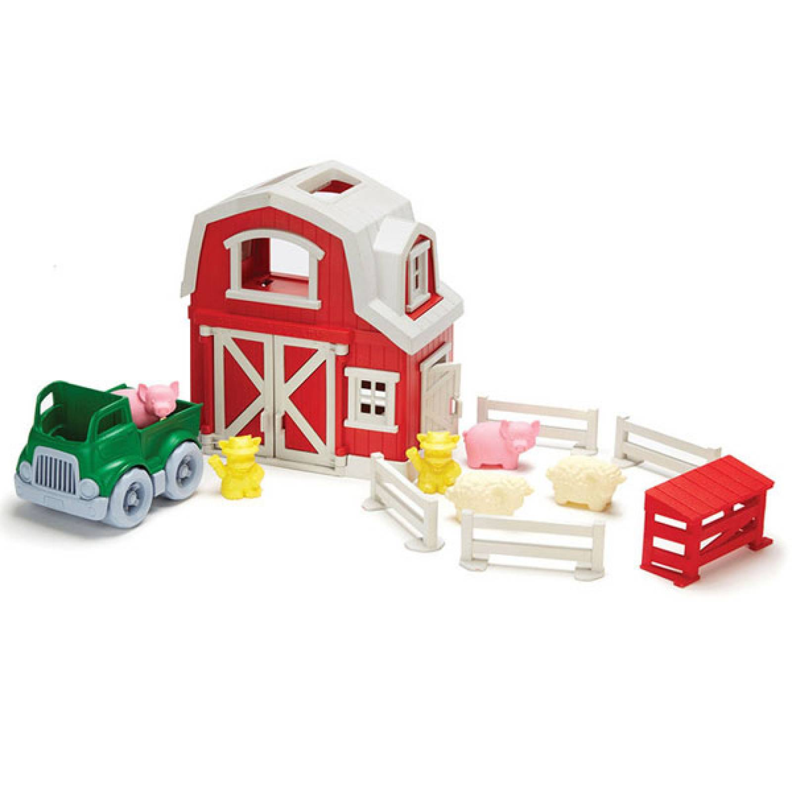 Farm Playset By Green Toys - Recycled Plastic 2-6yrs