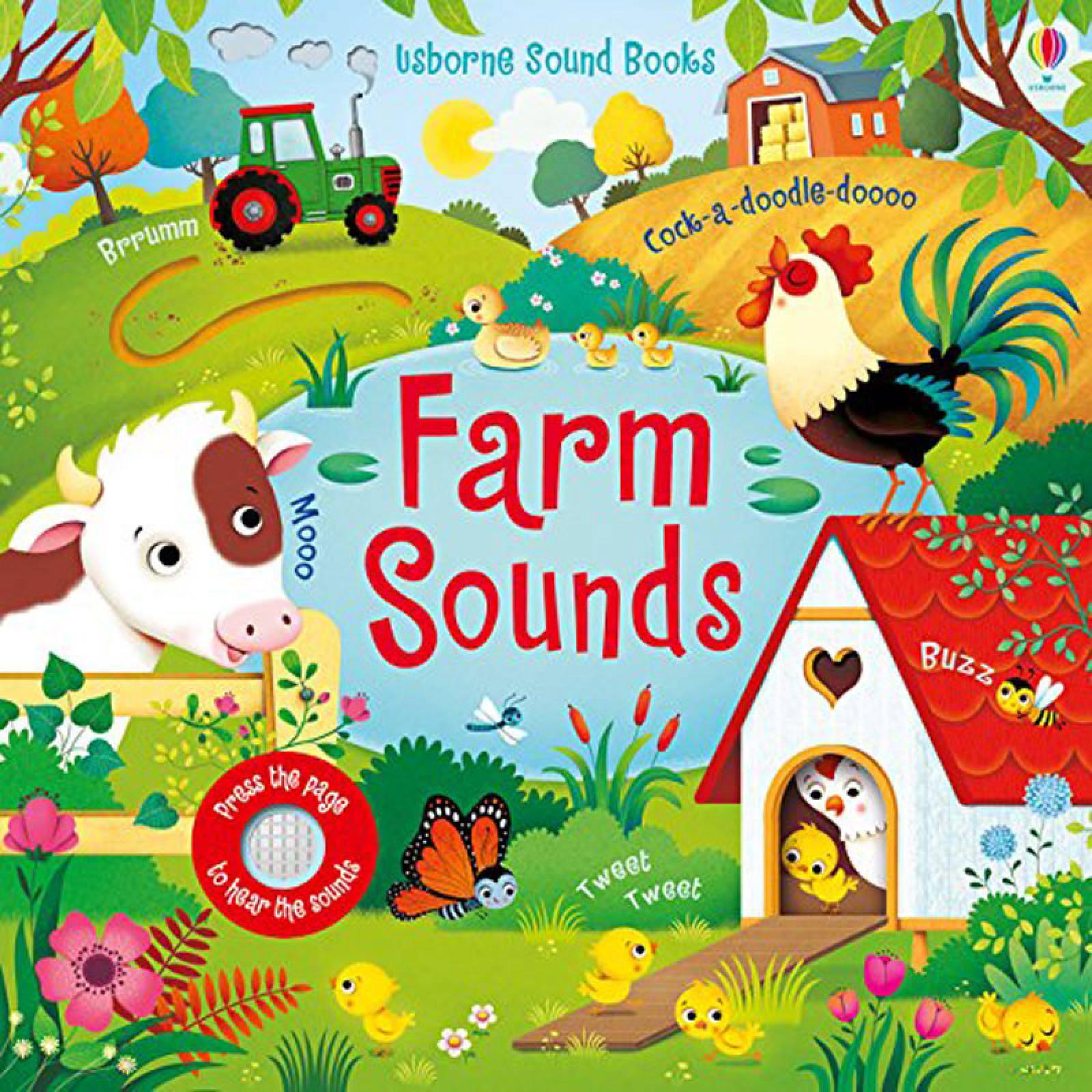 Farm Sounds Noisy Book - Hardback Book