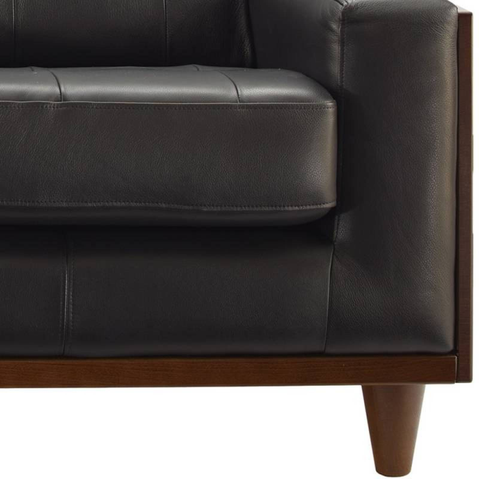 G Plan Vintage The Fifty Nine Right Hand Corner Leather Sofa thumbnails
