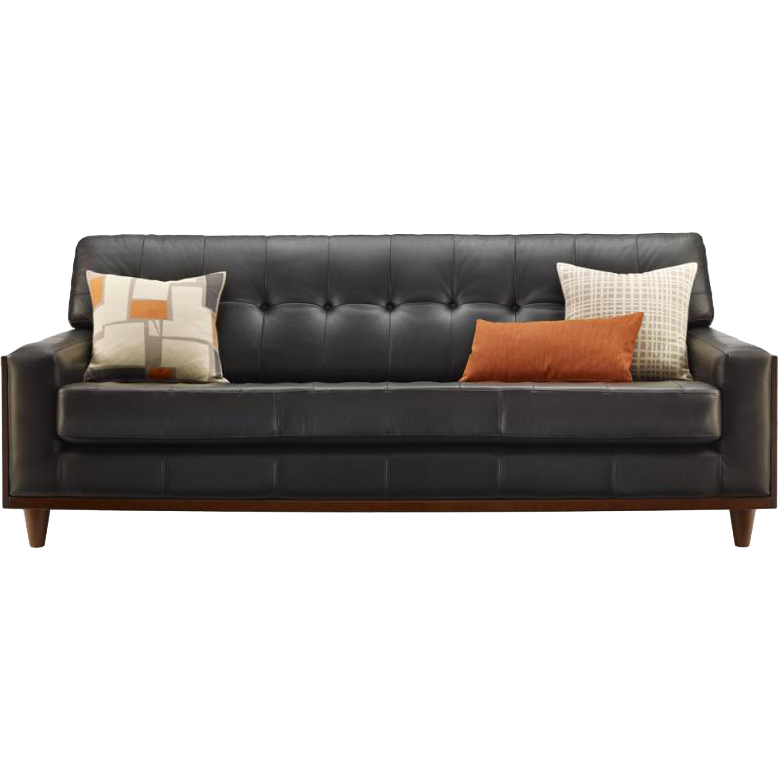 G Plan Vintage The Fifty Nine Large Leather Sofa