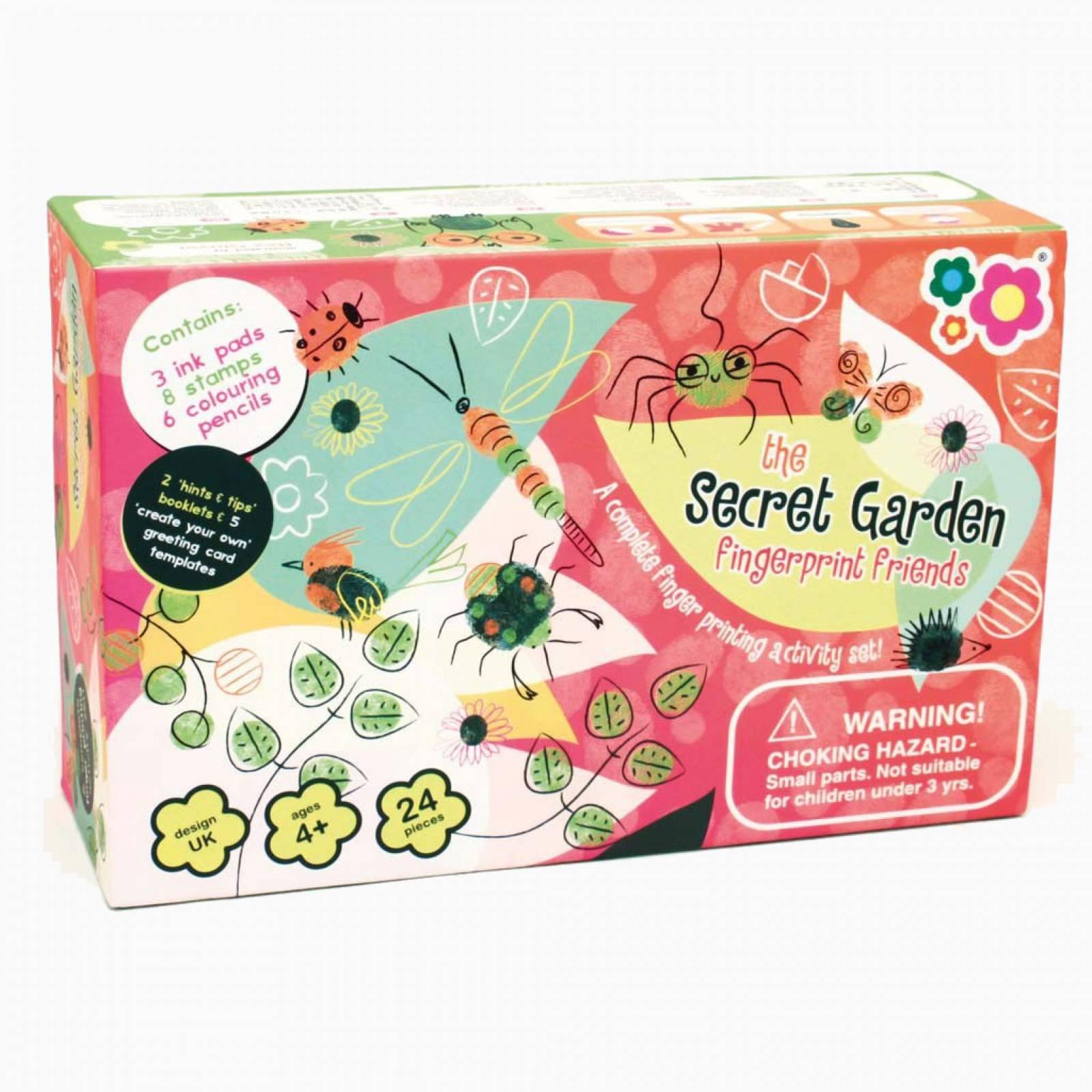 Fingerprint Friends - Secret Garden Art Set