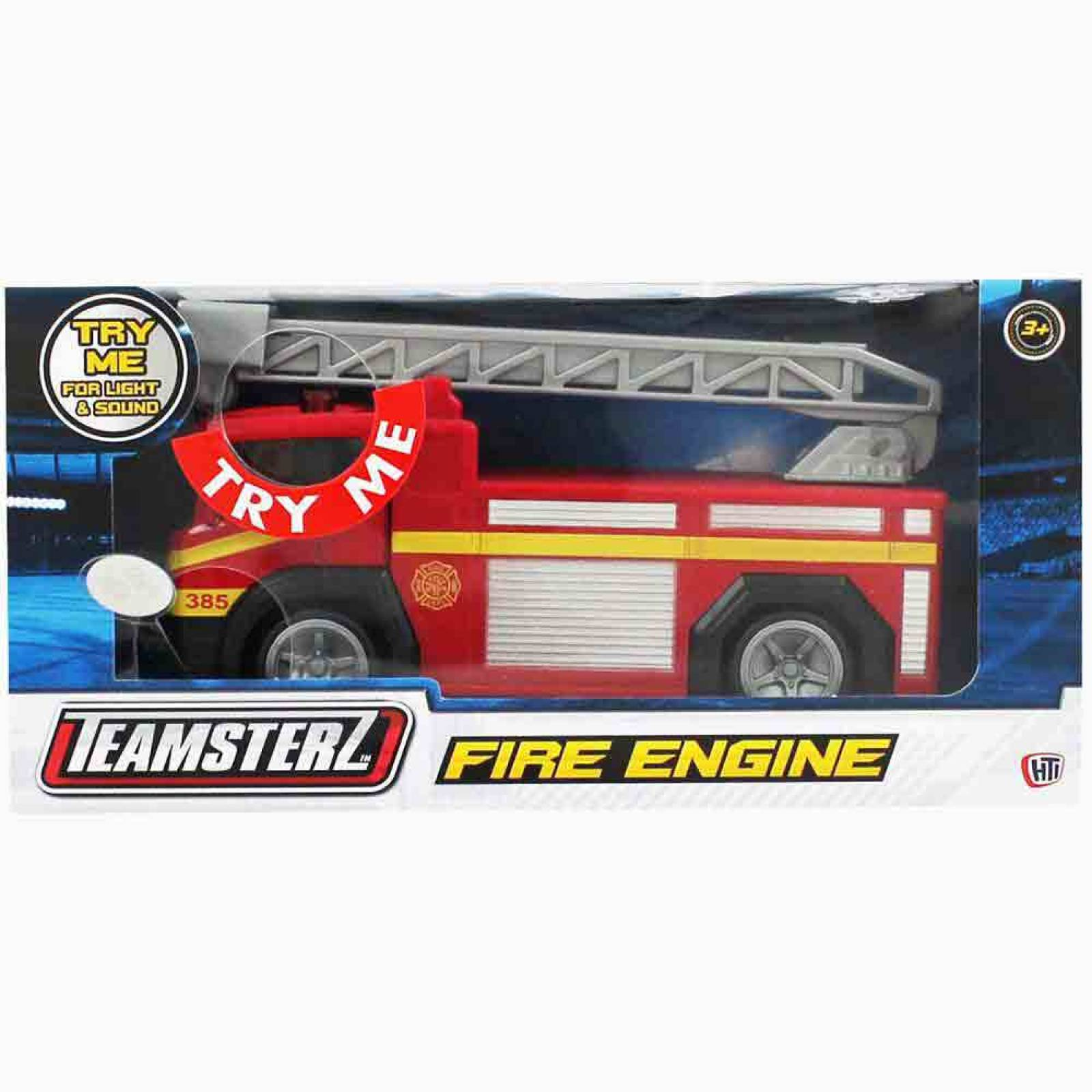 Fire Engine With Light & Sound 1:48 Toy Car Assorted thumbnails
