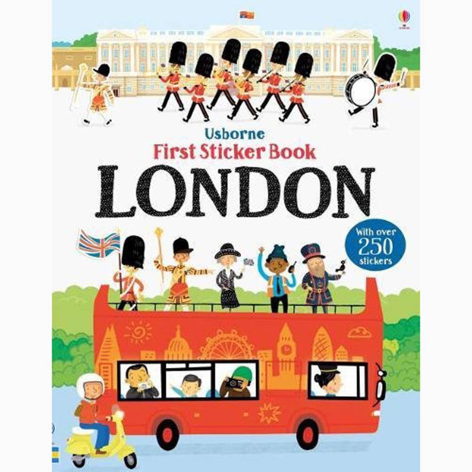 First Sticker Book: London