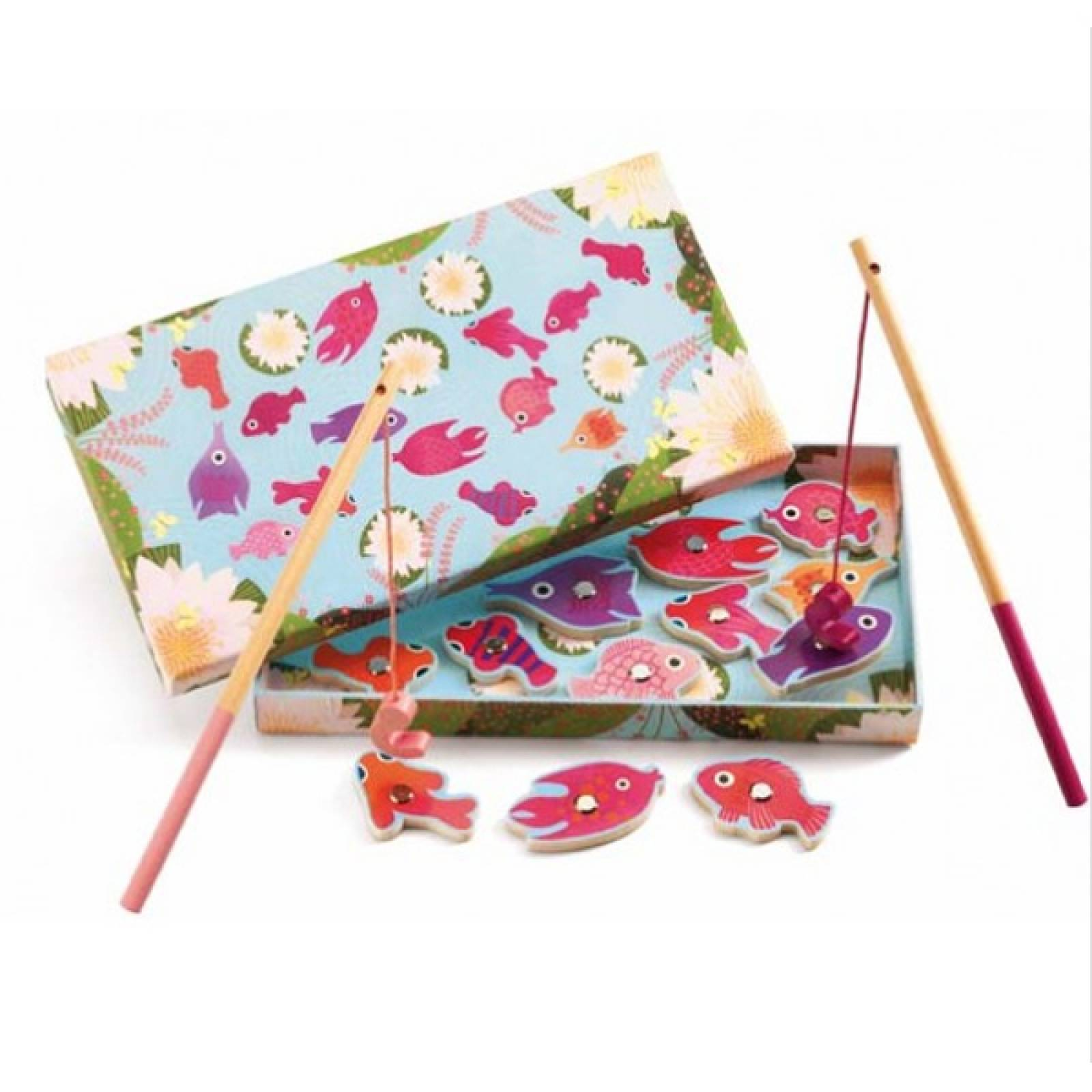 Fishing Lily Magnetic Fishing Game By Djeco