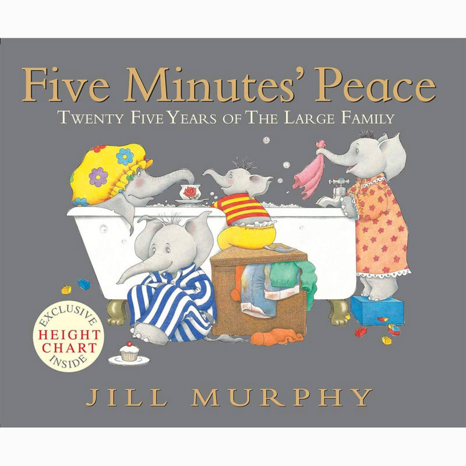 Five Minutes Peace - Paperback Book
