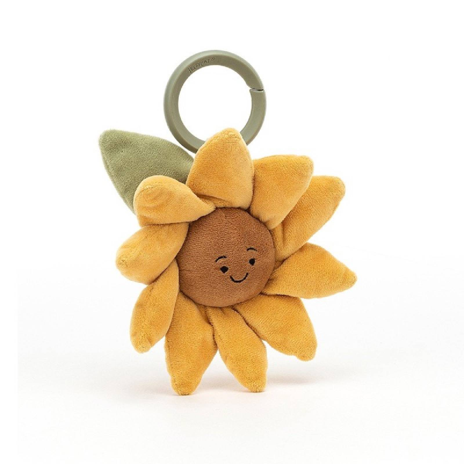 Fleury Sunflower Baby Jitter Toy By Jellycat