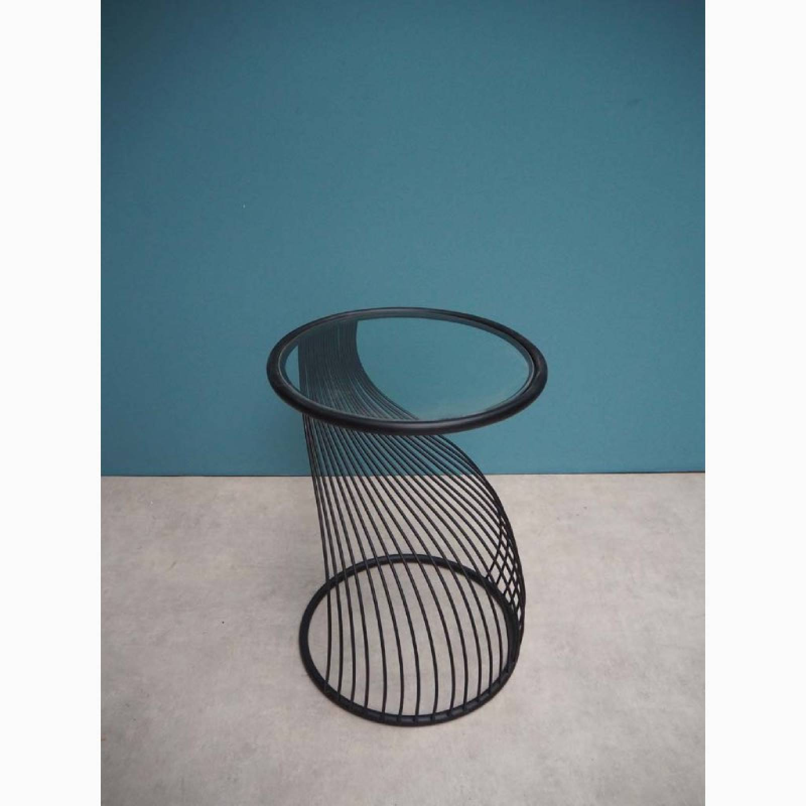 Flow Metal And Glass Side Table thumbnails