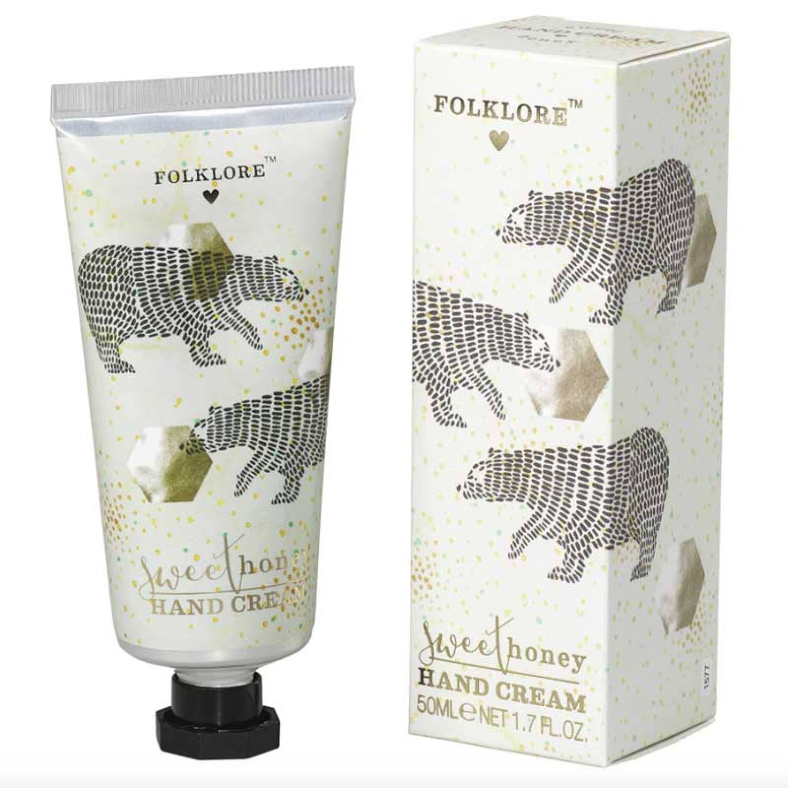 Folklore Bear Handcream Sweet Honey
