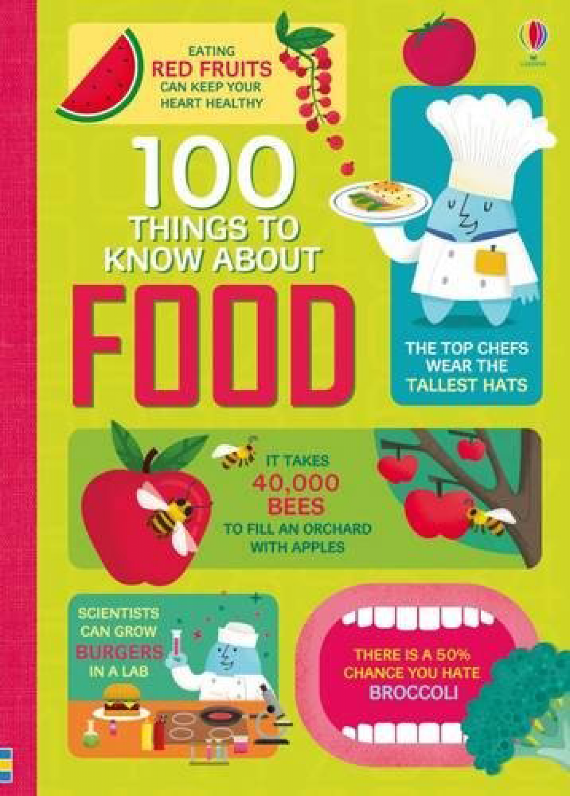 100 Things To Know About Food Hardback Book