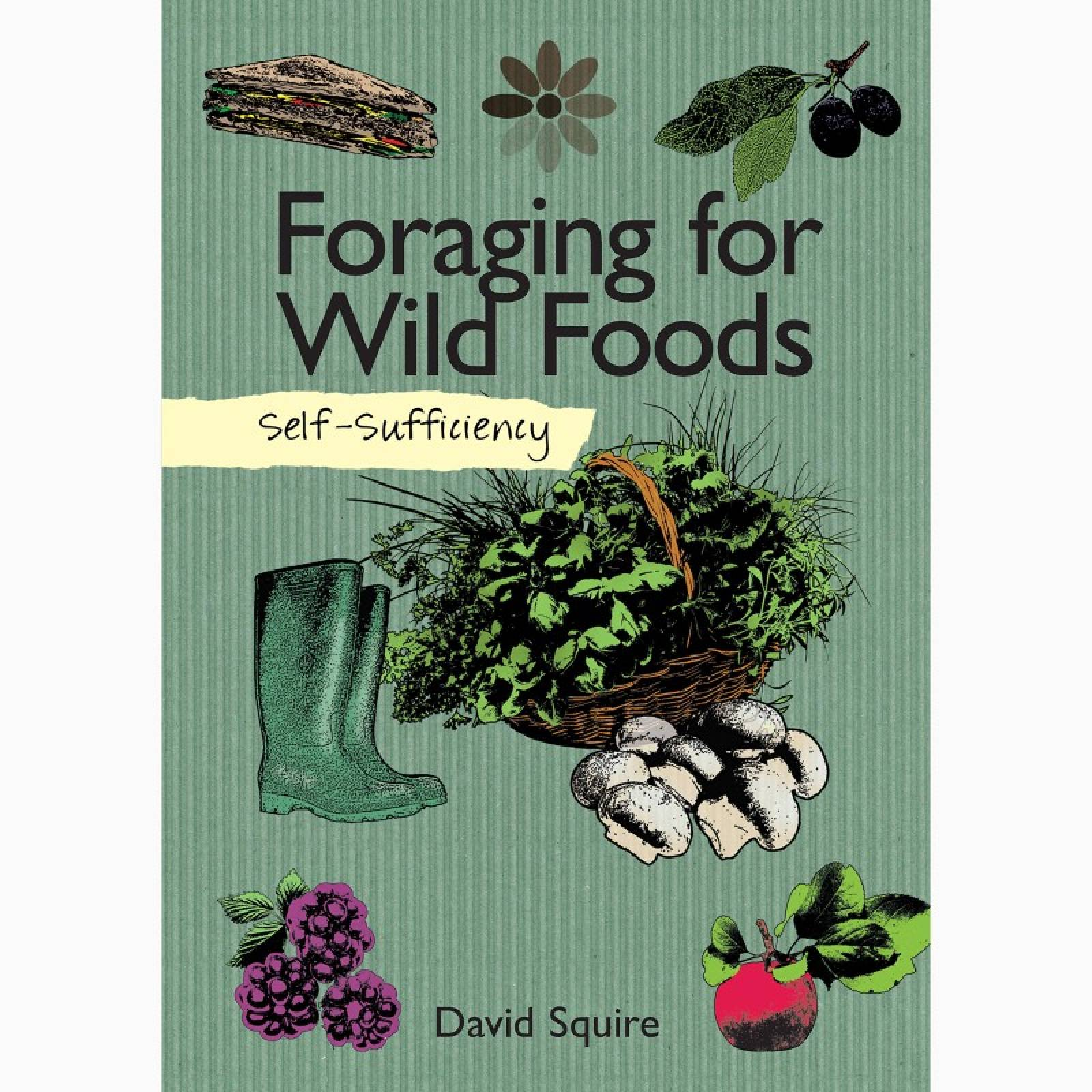 Foraging For Wild Foods - Paperback Book