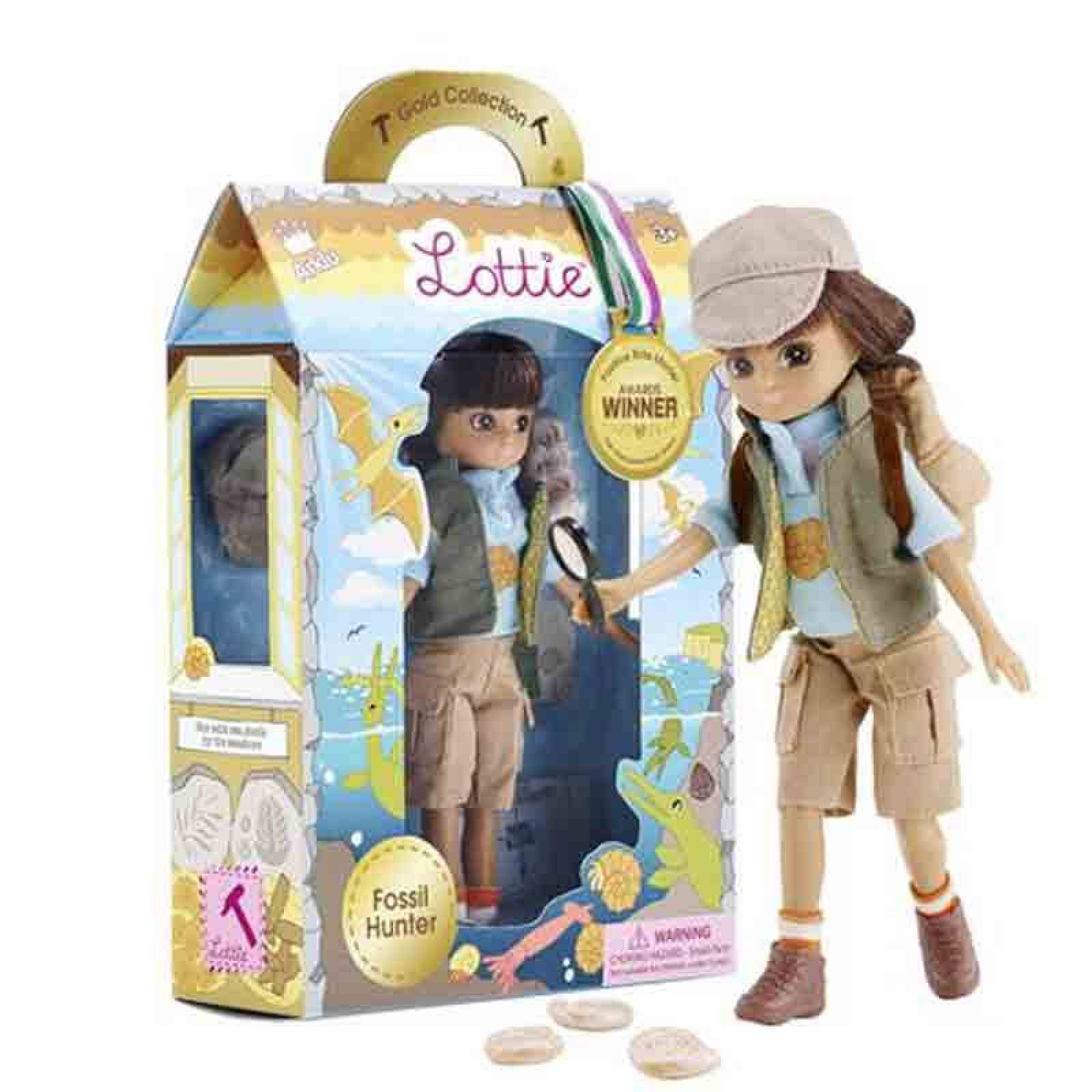 Fossil Hunter Lottie Doll 3yr+