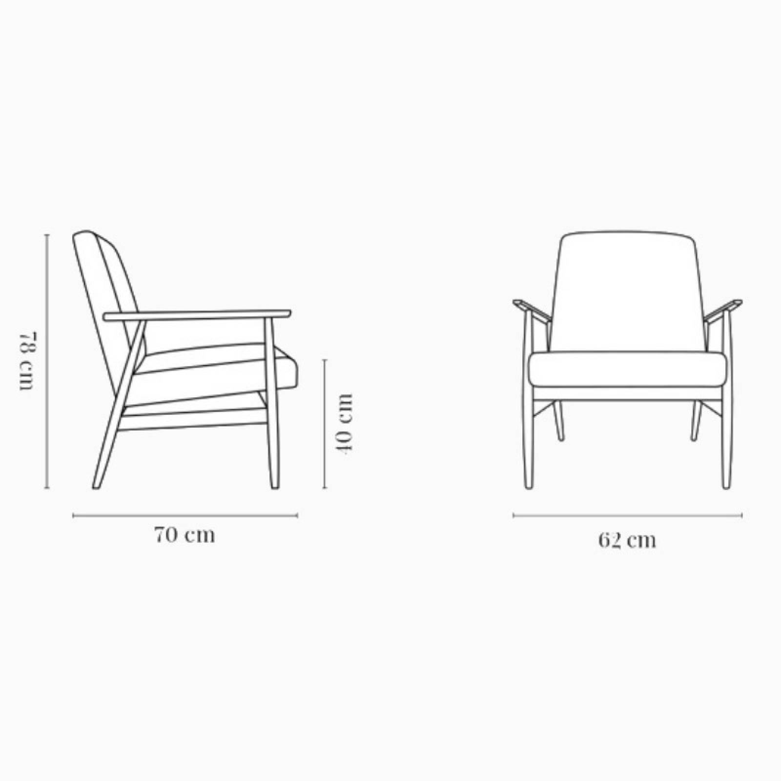 Fox Lounge Chair In Boucle Fabric thumbnails