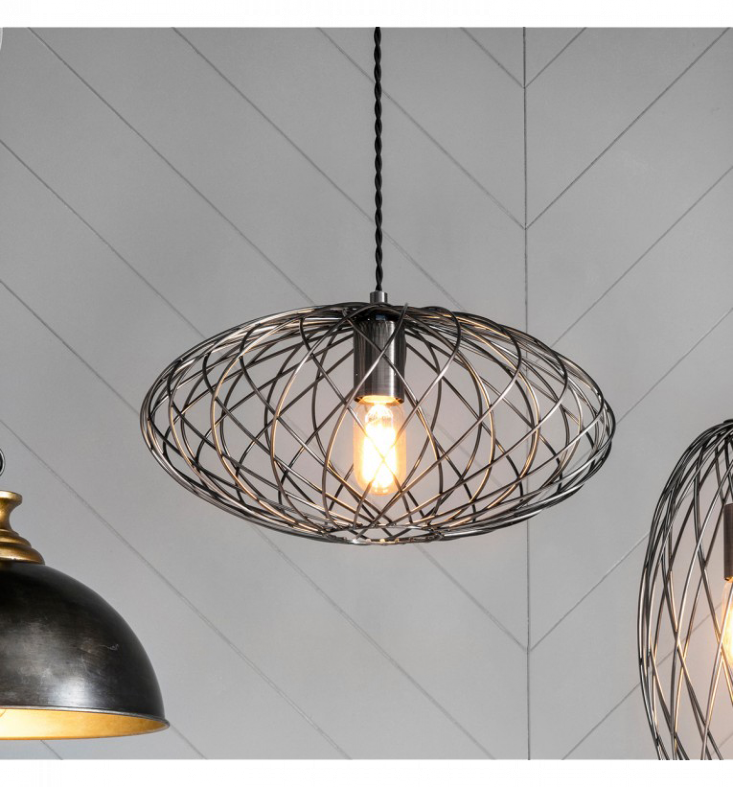 Frankland Dark Copper Pendant Light