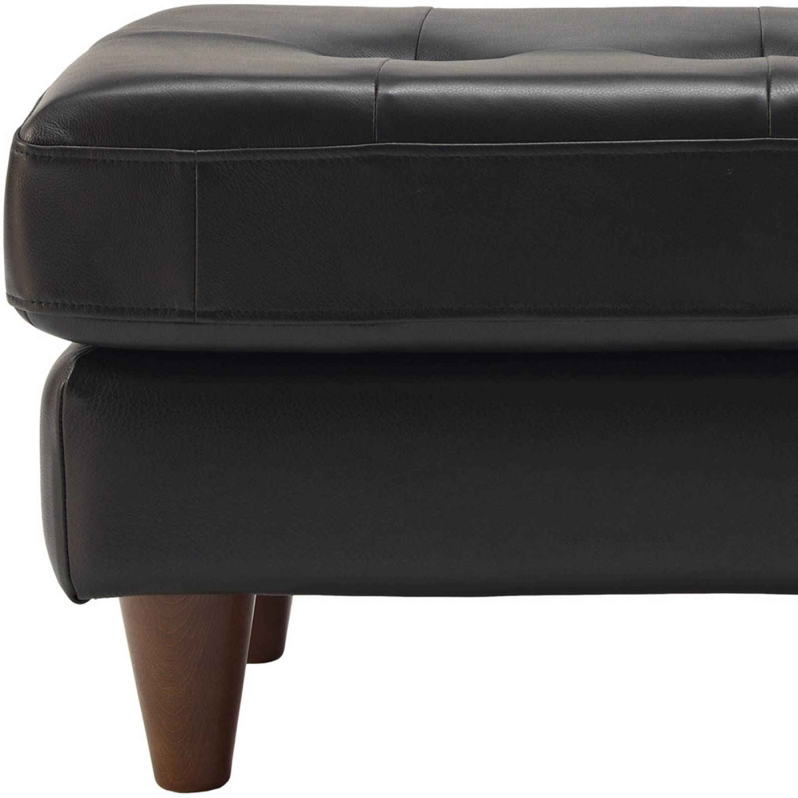 G Plan Vintage The Fifty Nine Leather Footstool thumbnails
