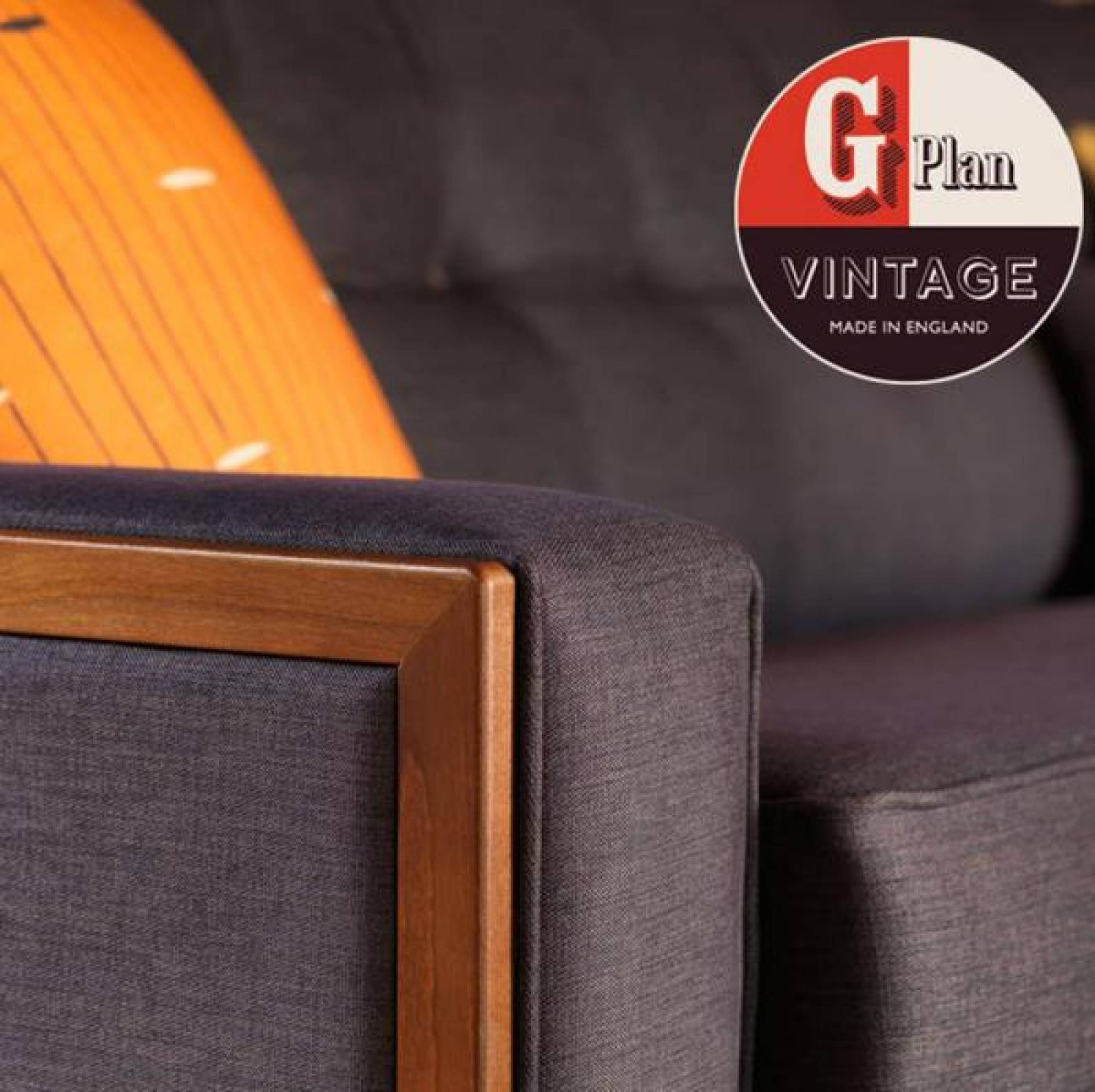 G Plan Vintage The Fifty Nine Small Fabric Sofa thumbnails