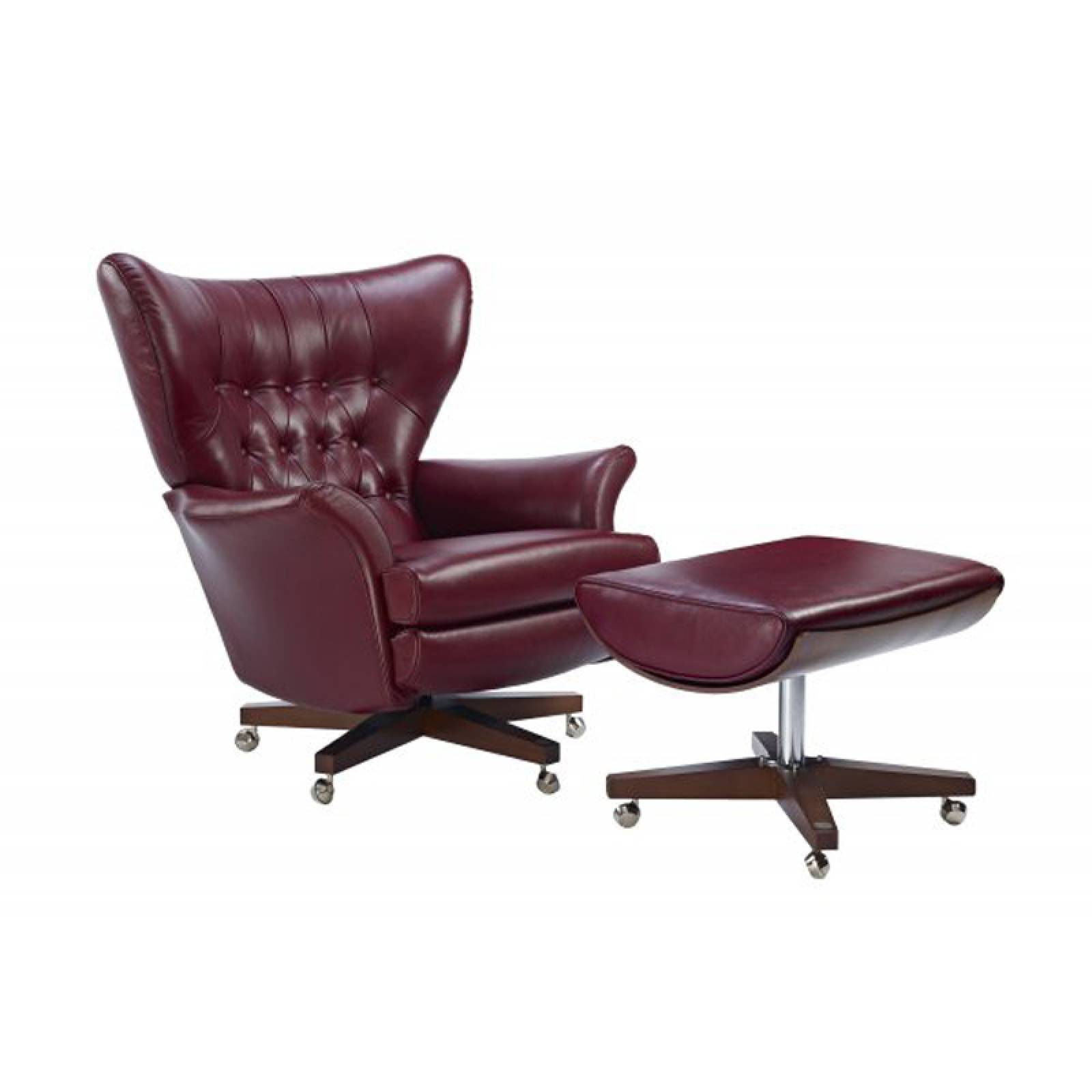 G Plan Vintage The Sixty Two Leather Footstool thumbnails