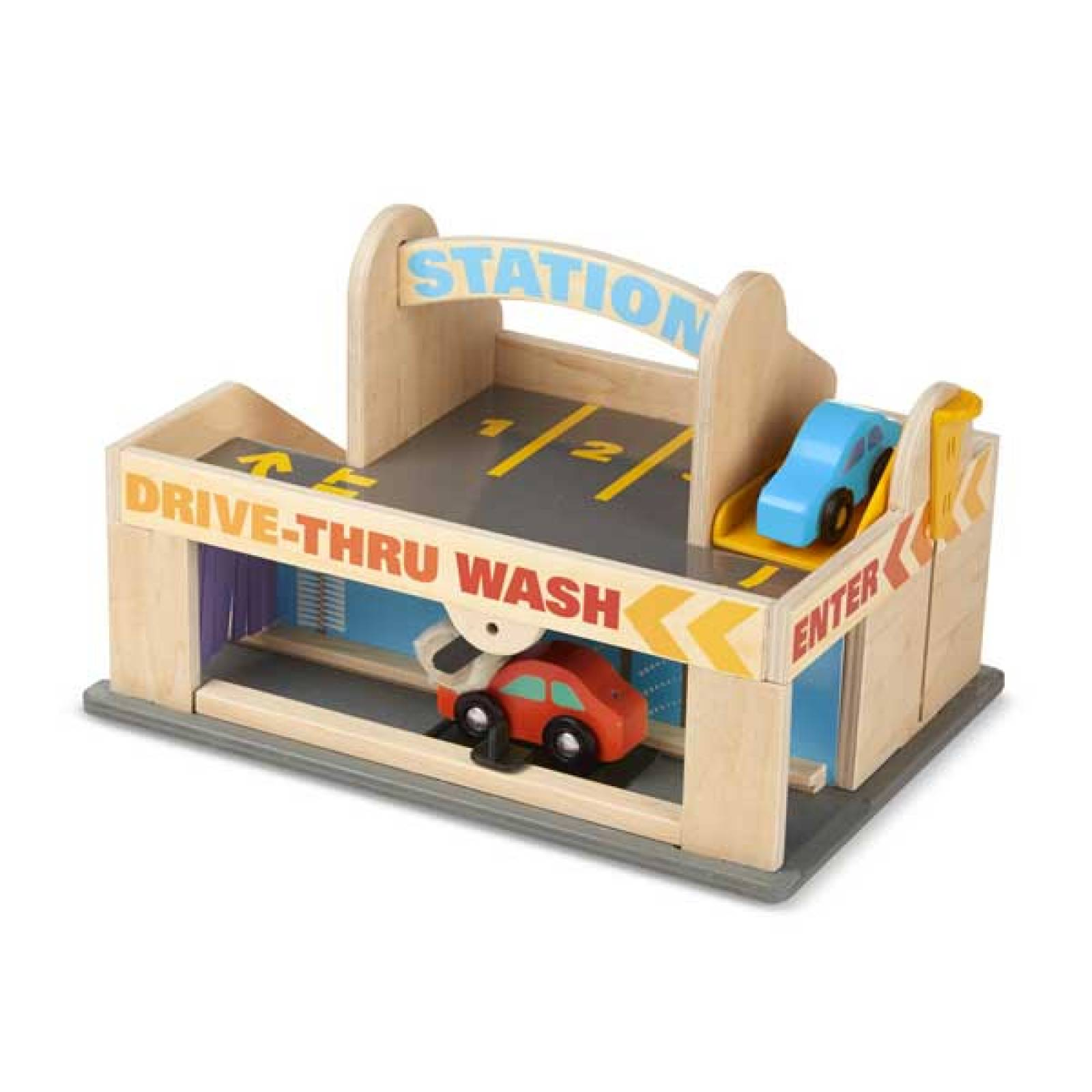 Service Station Parking Garage Toy By Melissa & Doug 3+ thumbnails