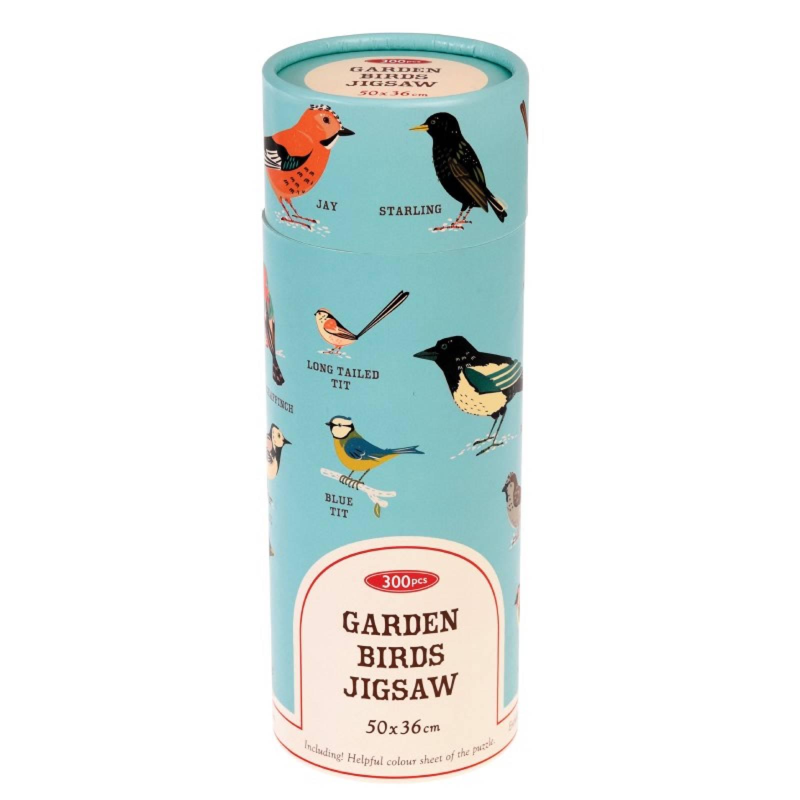 Garden Birds Puzzle In Tube Box thumbnails