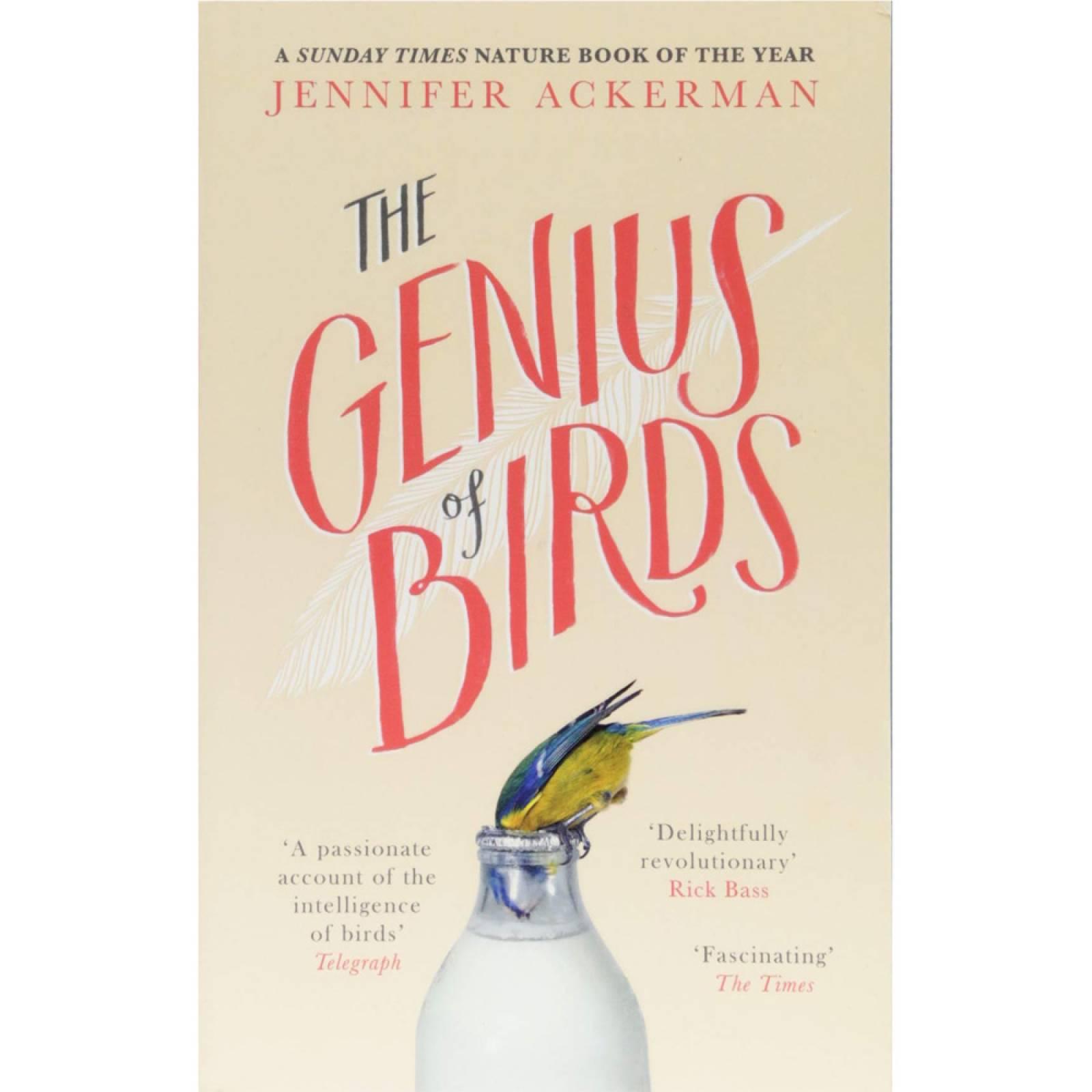 The Genius Of Birds - Paperback Book