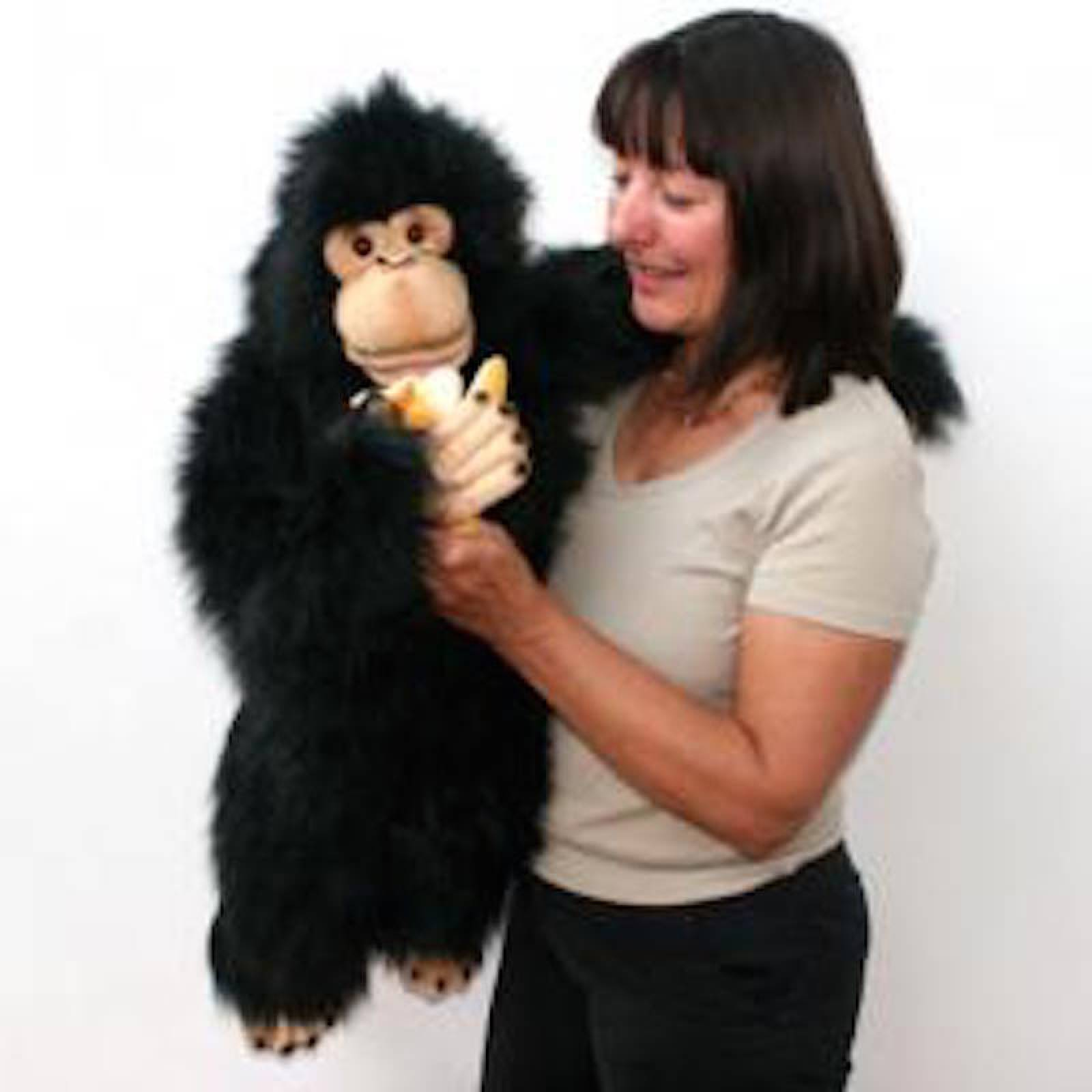 Giant Chimp Full Bodied Hand Puppet 80cm