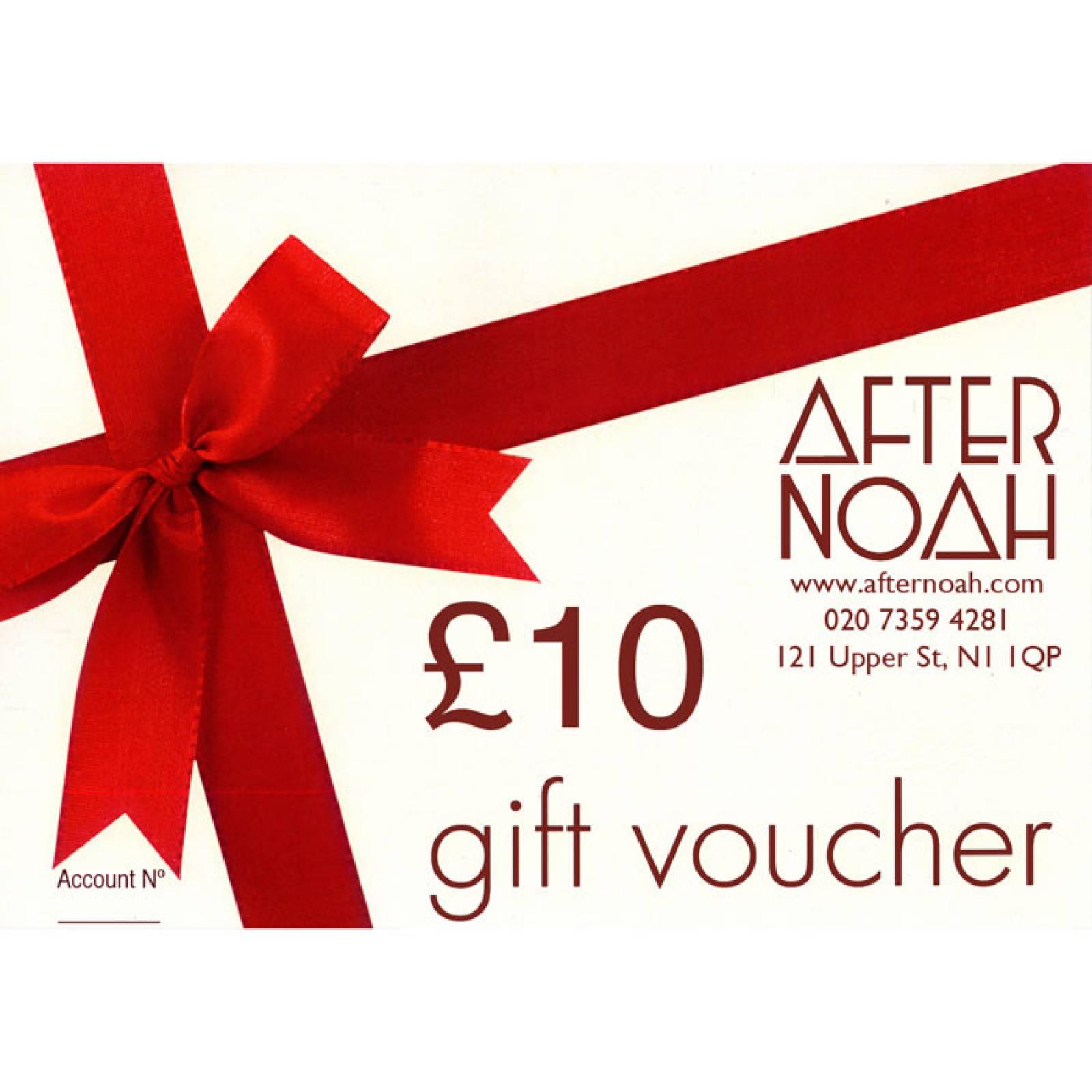 After Noah Gift Voucher