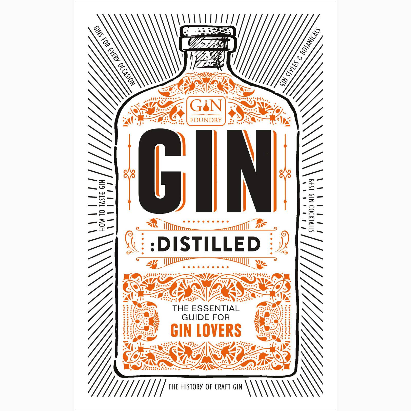 Gin: Distilled - Hardback Book thumbnails