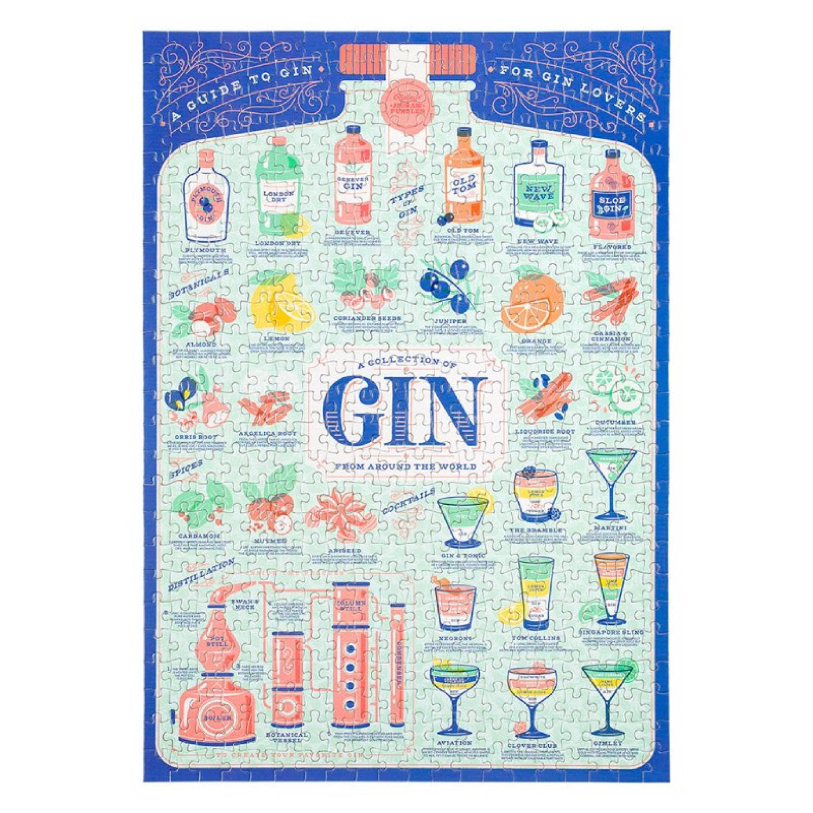 Gin Lovers' Jigsaw Puzzle 500 Piece thumbnails