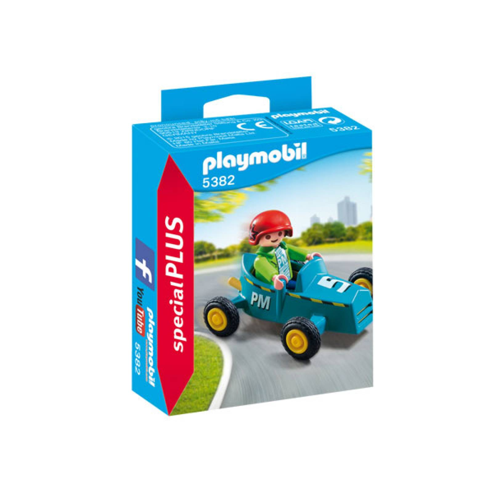 Boy With Go-Kart Special Plus Playmobil 5382 thumbnails