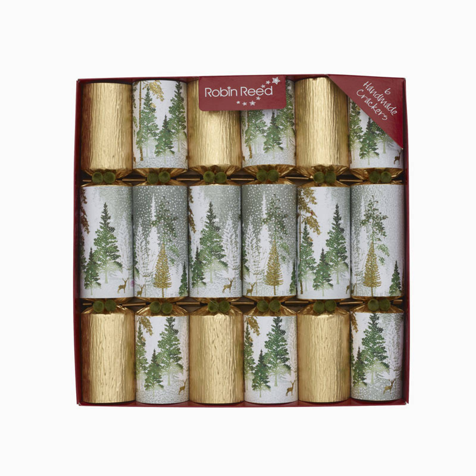 Gold Enchanted Christmas Crackers