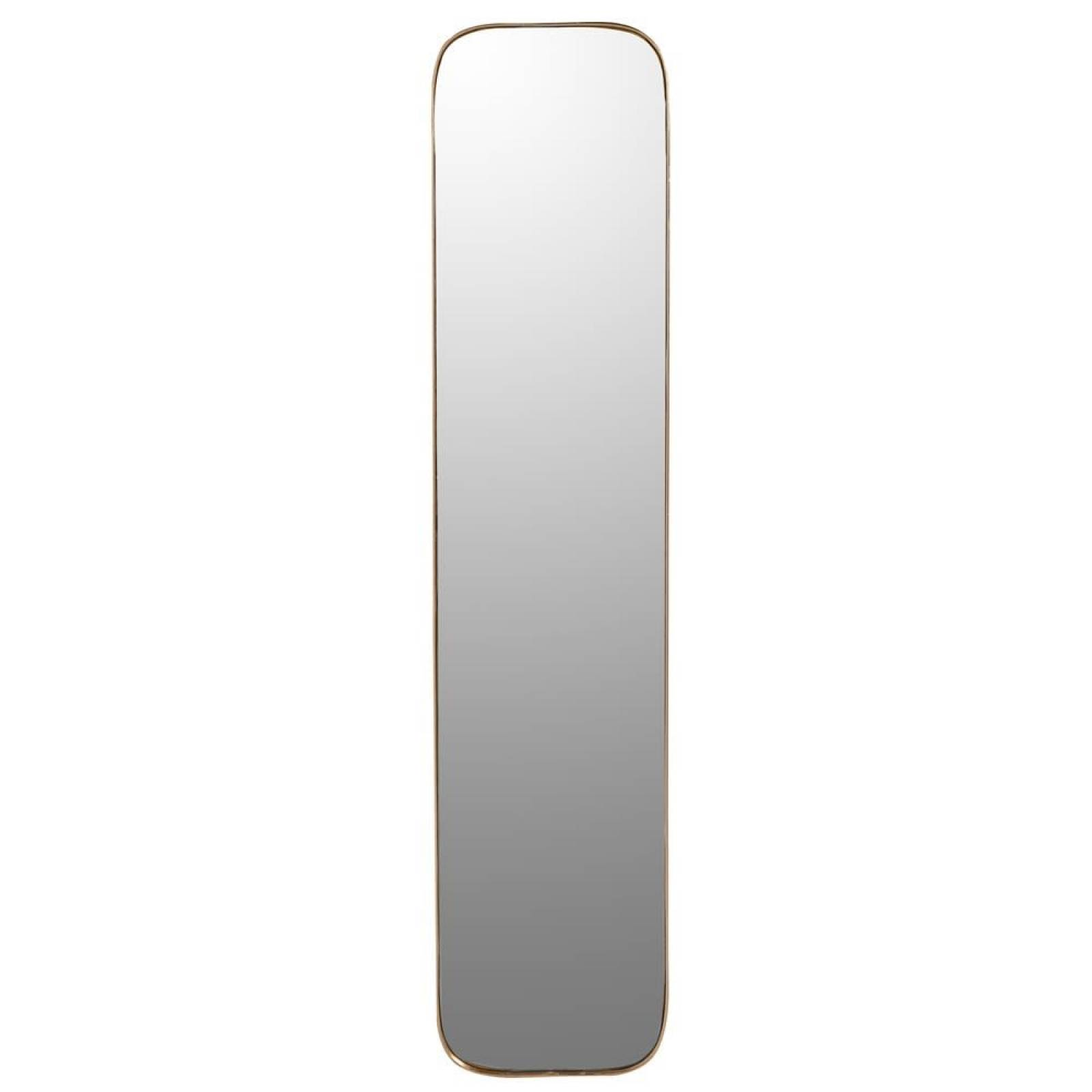 Gold Full Length Mirror With Curved Frame