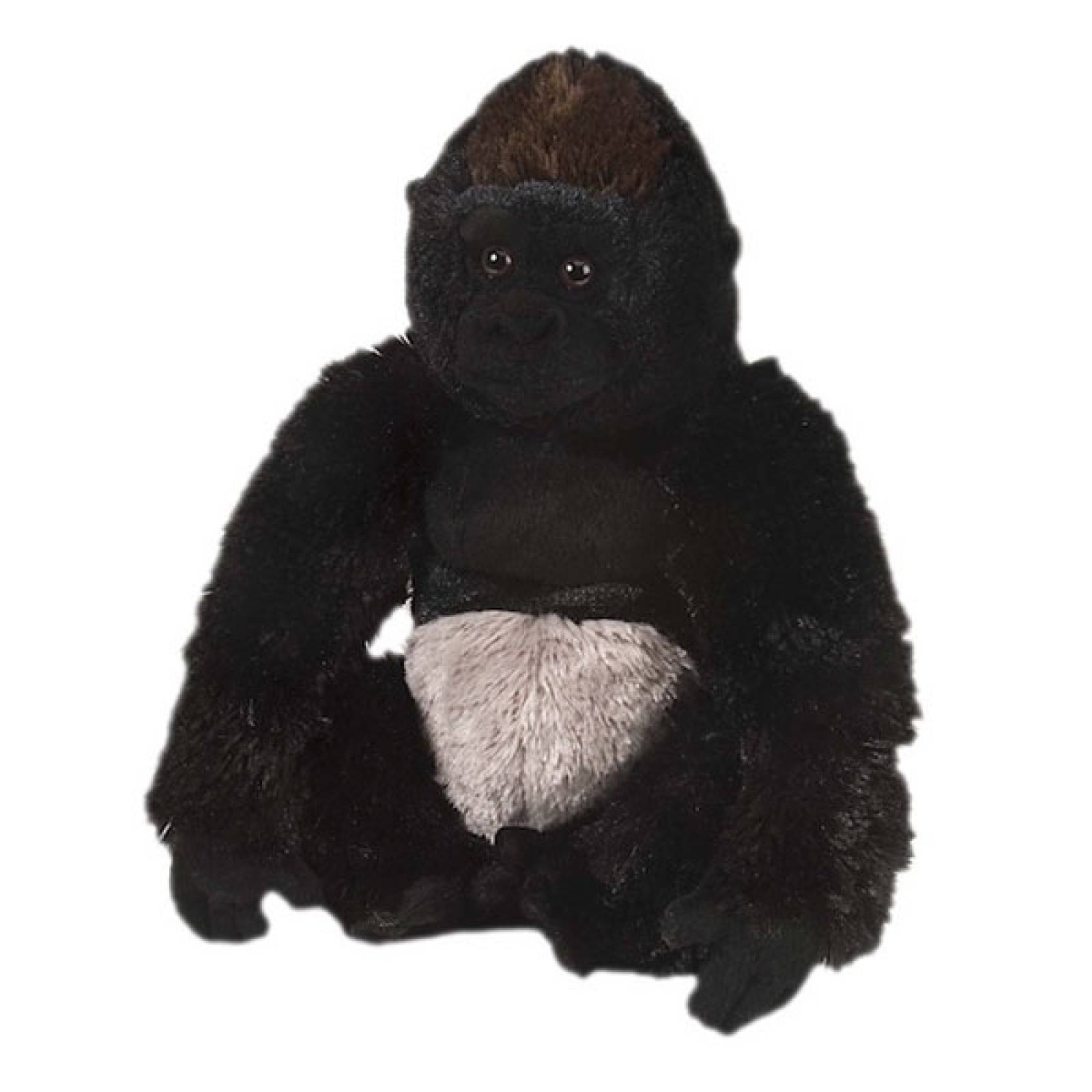 Sitting Silverback Gorilla Soft Toy 30cm