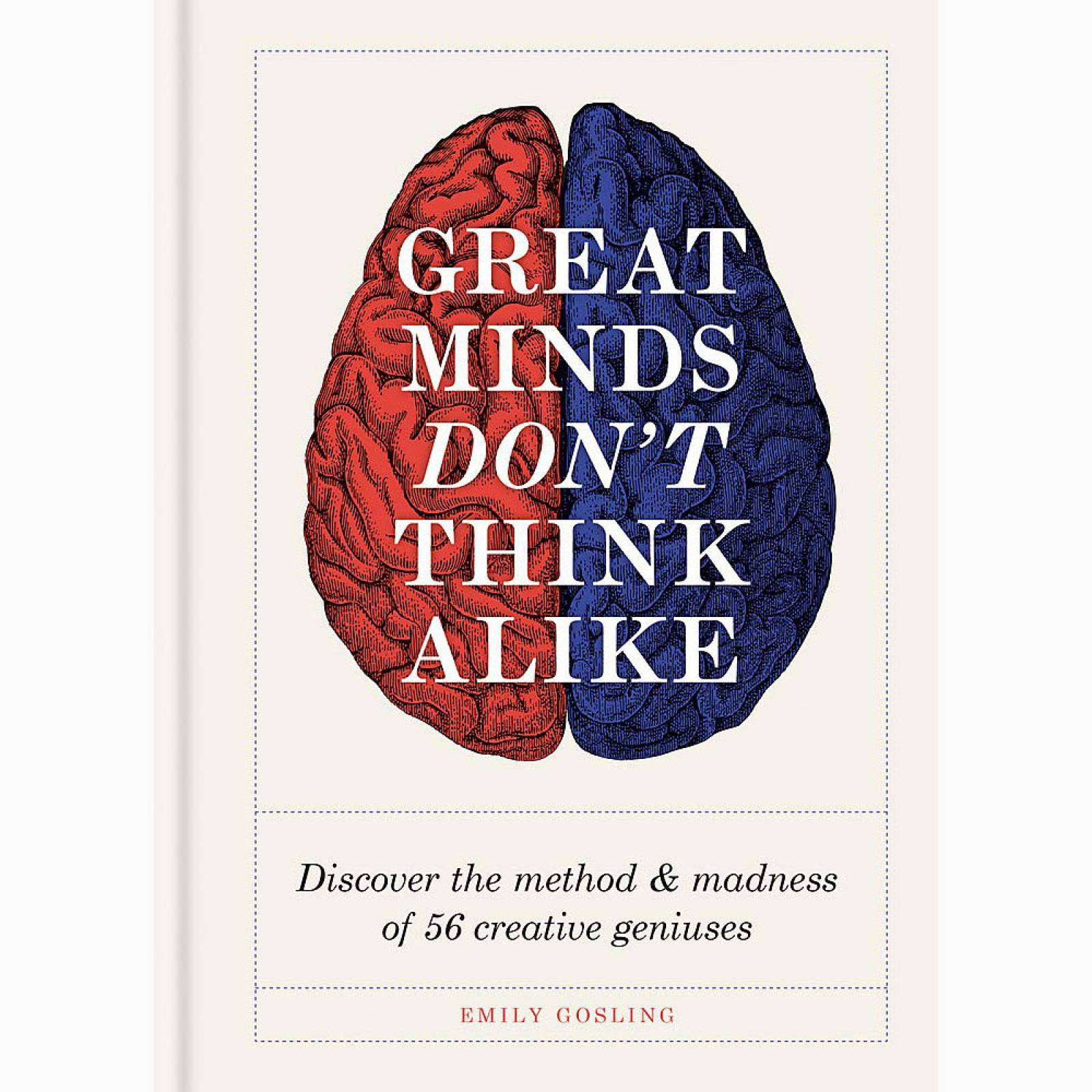 Great Minds Don't Think Alike - Hardback Book thumbnails