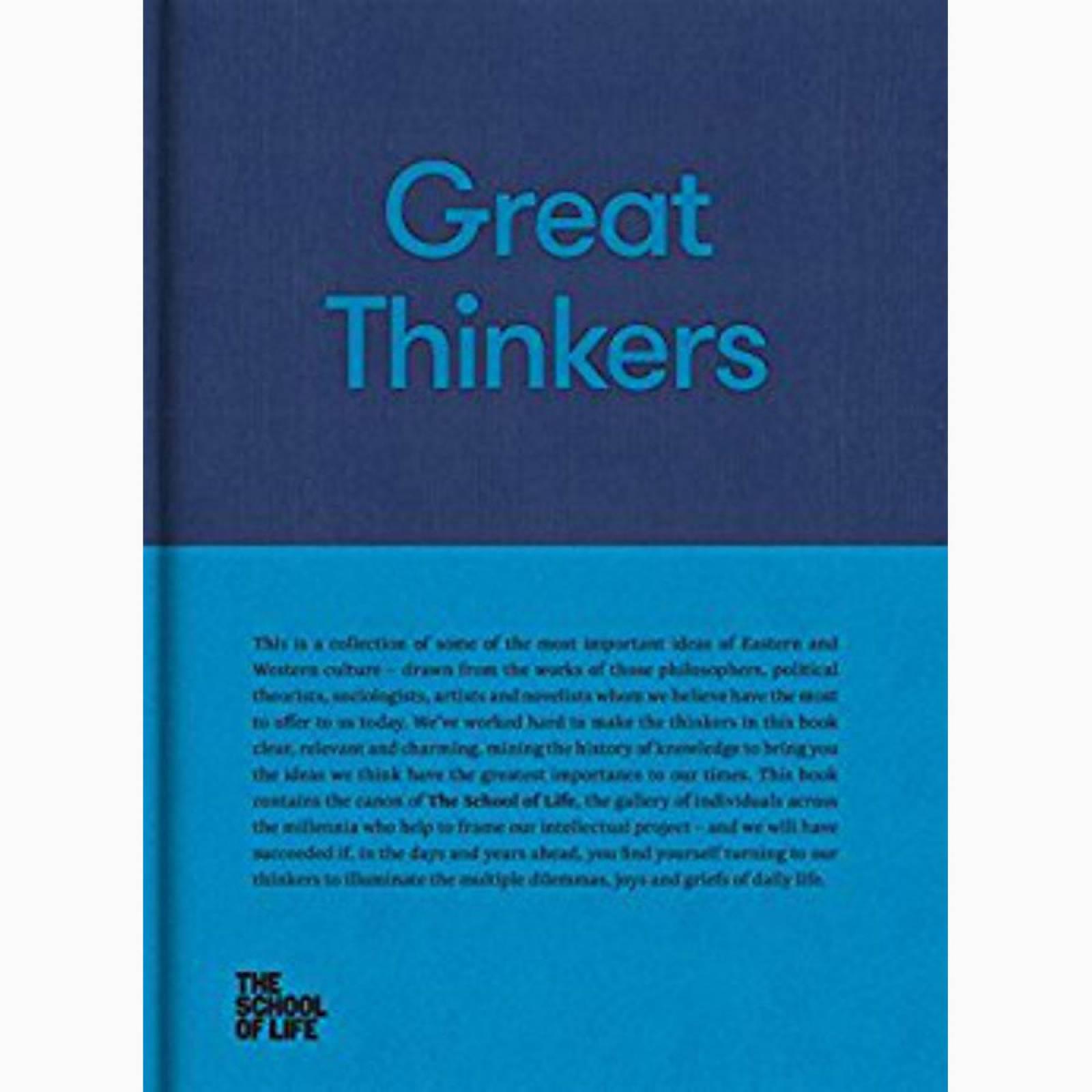 Great Thinkers - School Of Life Hardback Book