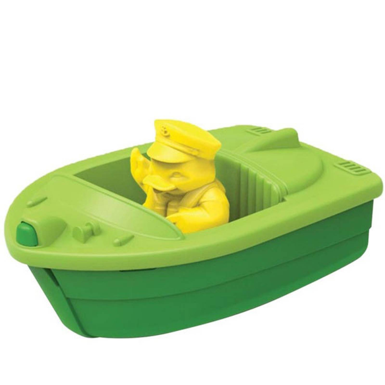 Green Launch Boat By Green Toys - Recycled Plastic 2+