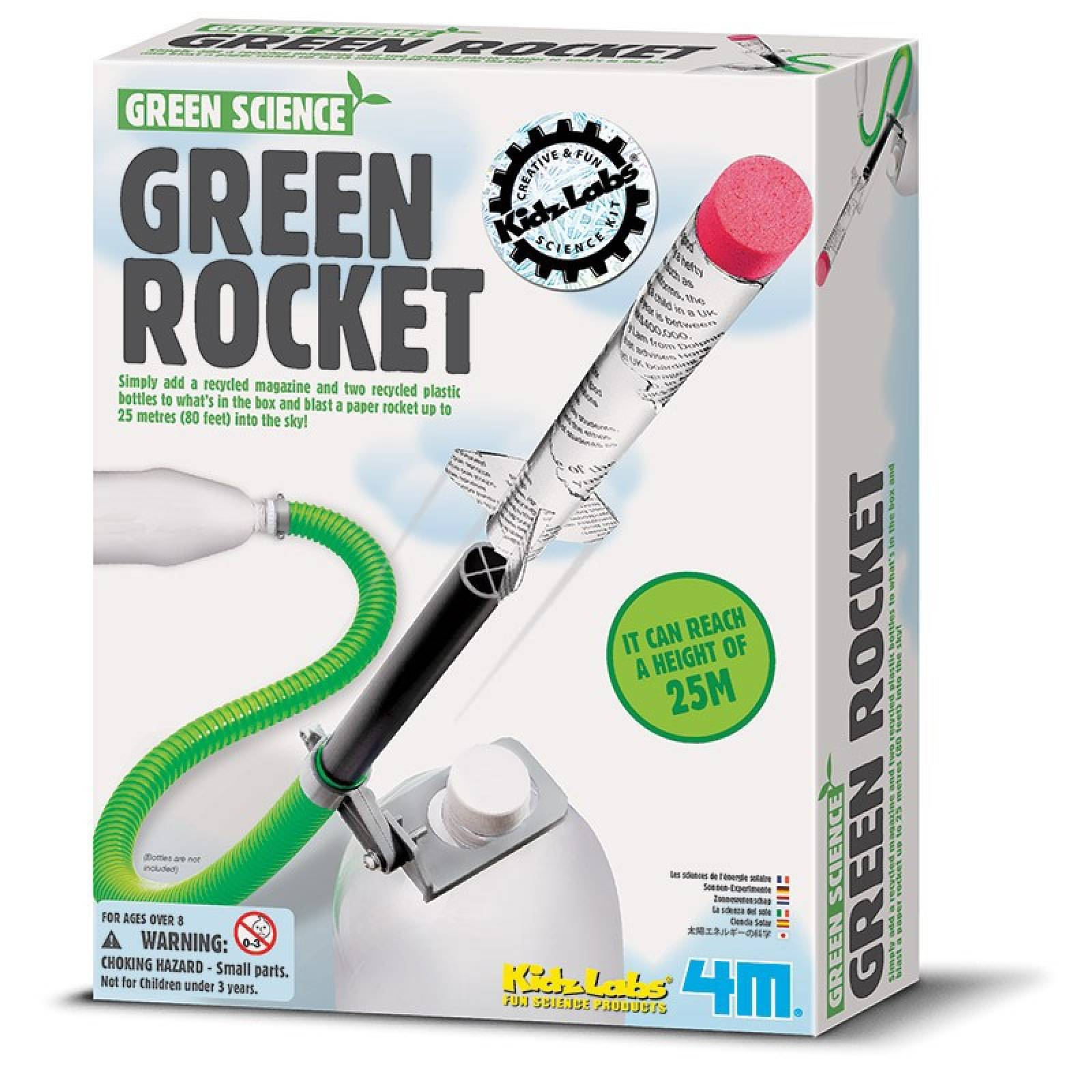 Green Rocket - Green Science Kit 8+